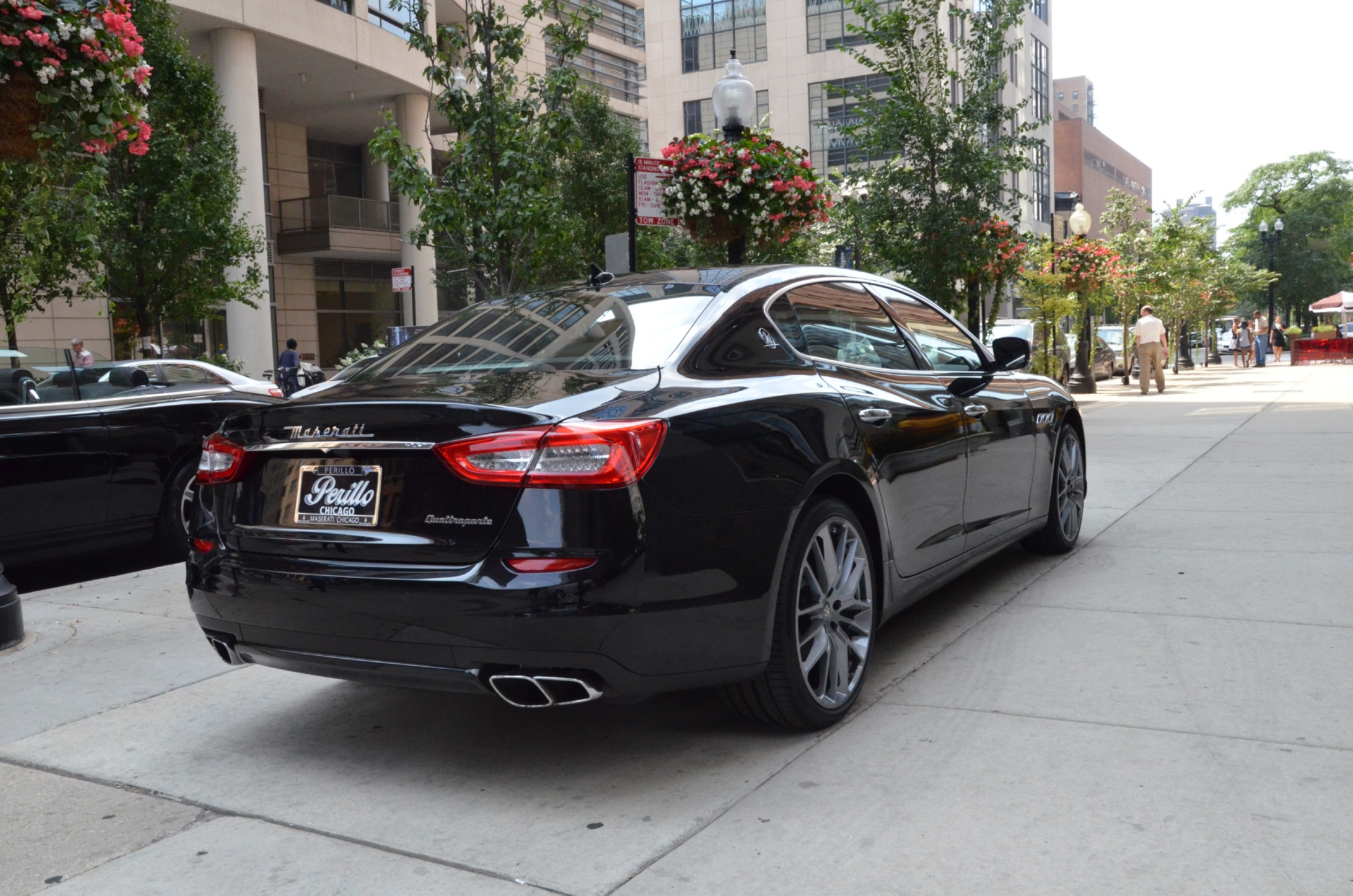 2014 maserati quattroporte gts sport gt s stock gc mir67 for sale near chicago il il. Black Bedroom Furniture Sets. Home Design Ideas