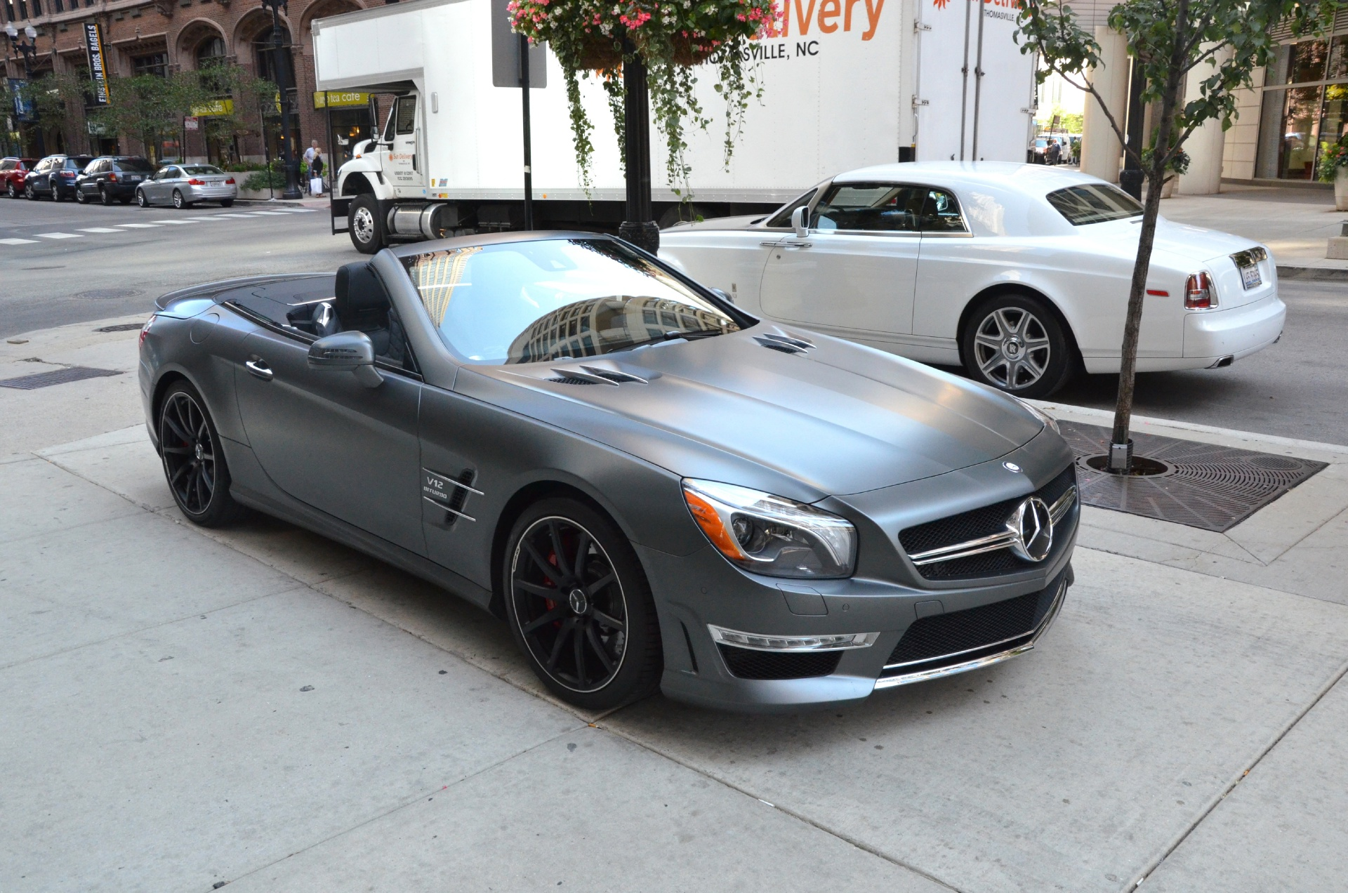 2013 mercedes benz sl class sl65 amg stock b459a for for Mercedes benz dealerships in chicago area