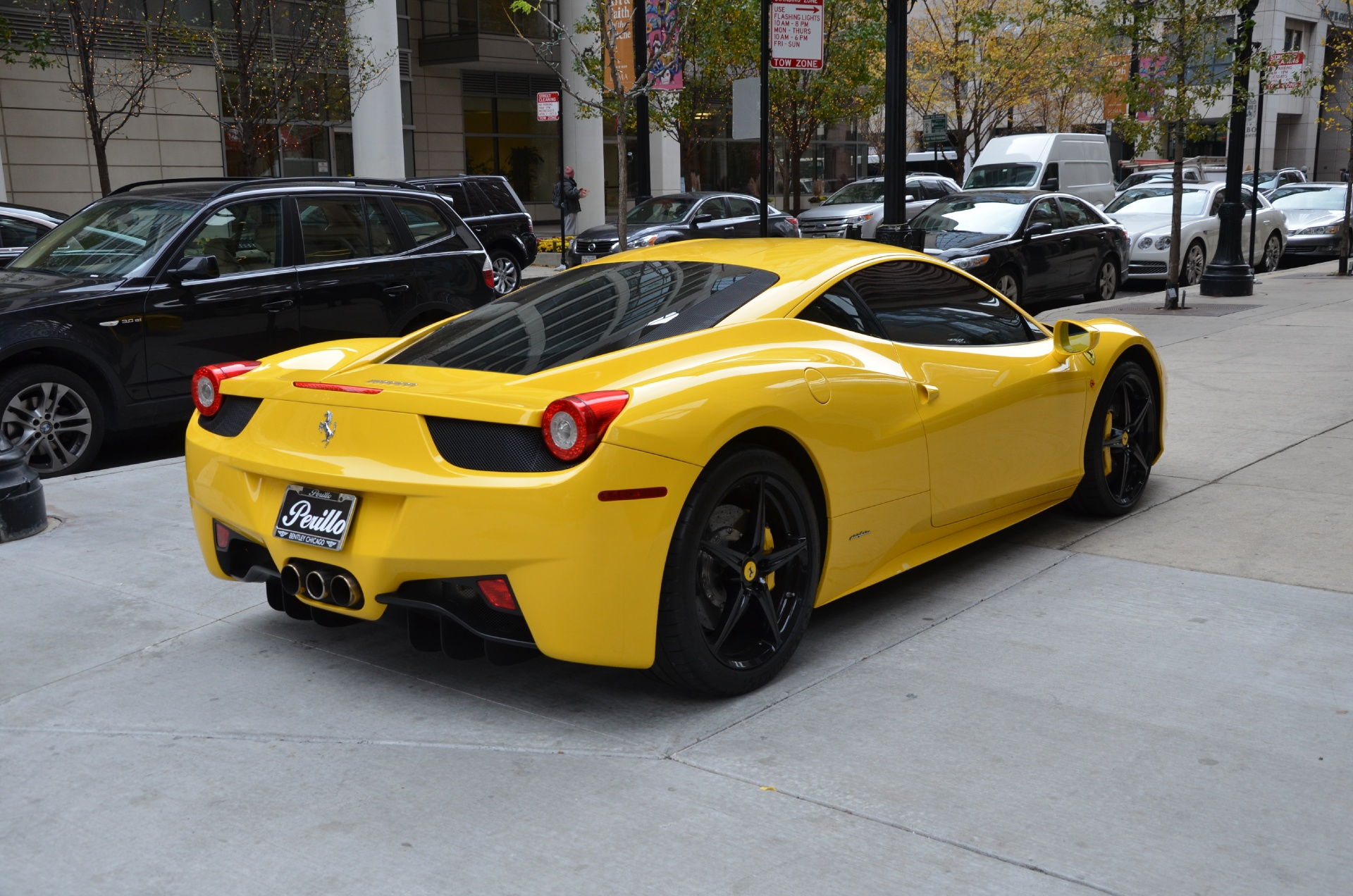 2011 ferrari 458 italia stock gc1822a for sale near chicago il il ferrari dealer. Black Bedroom Furniture Sets. Home Design Ideas