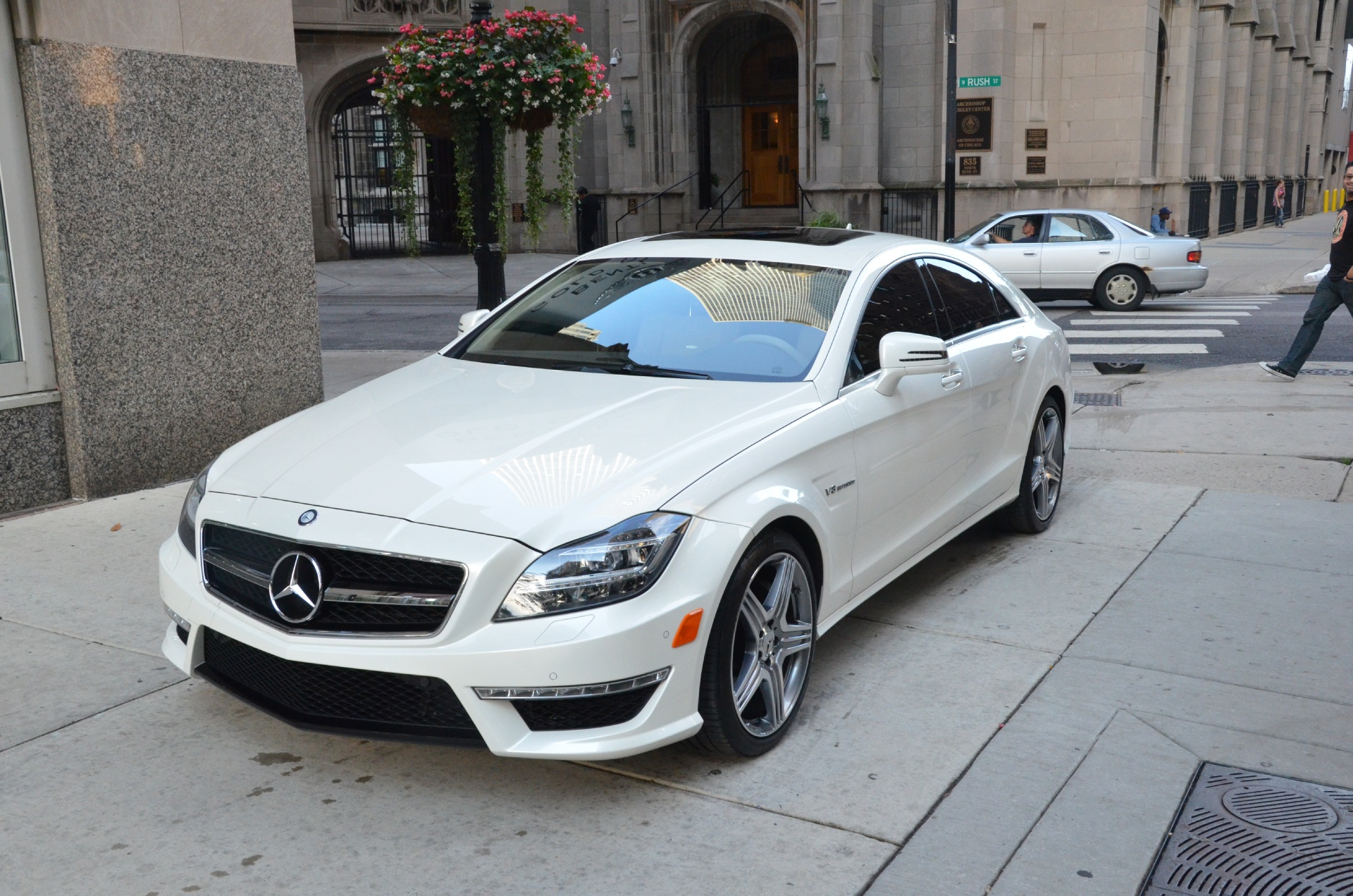 2012 mercedes benz cls class cls63 amg stock l101aa for for Chicagoland mercedes benz dealers
