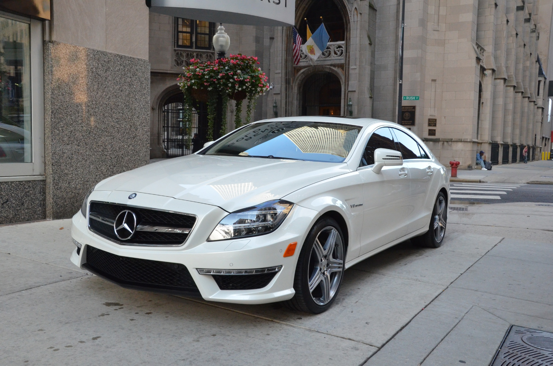 2012 mercedes benz cls class cls63 amg stock l101aa for for Mercedes benz chicago dealers