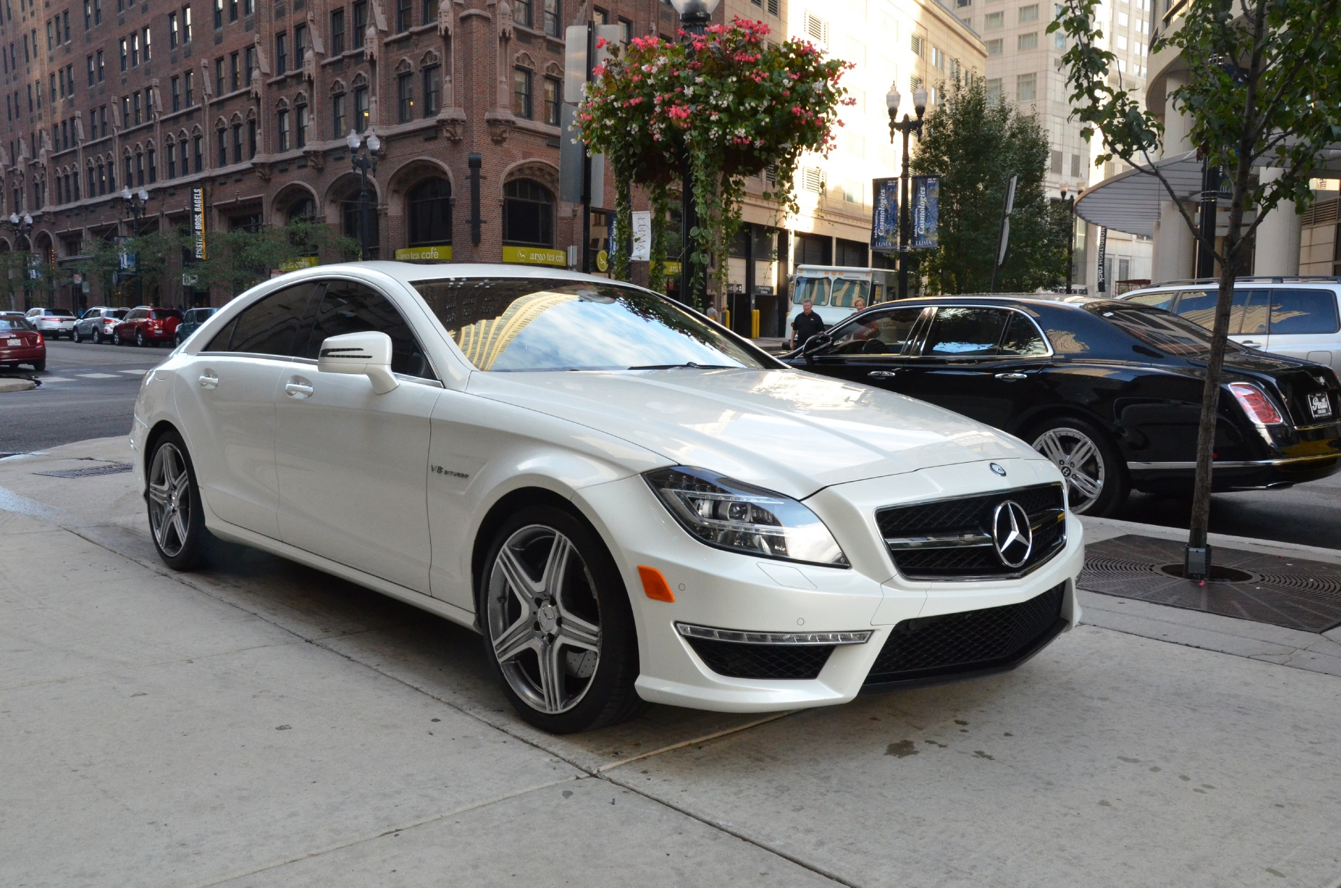2012 mercedes benz cls class cls63 amg stock l101aa for for Mercedes benz dealerships in chicago area