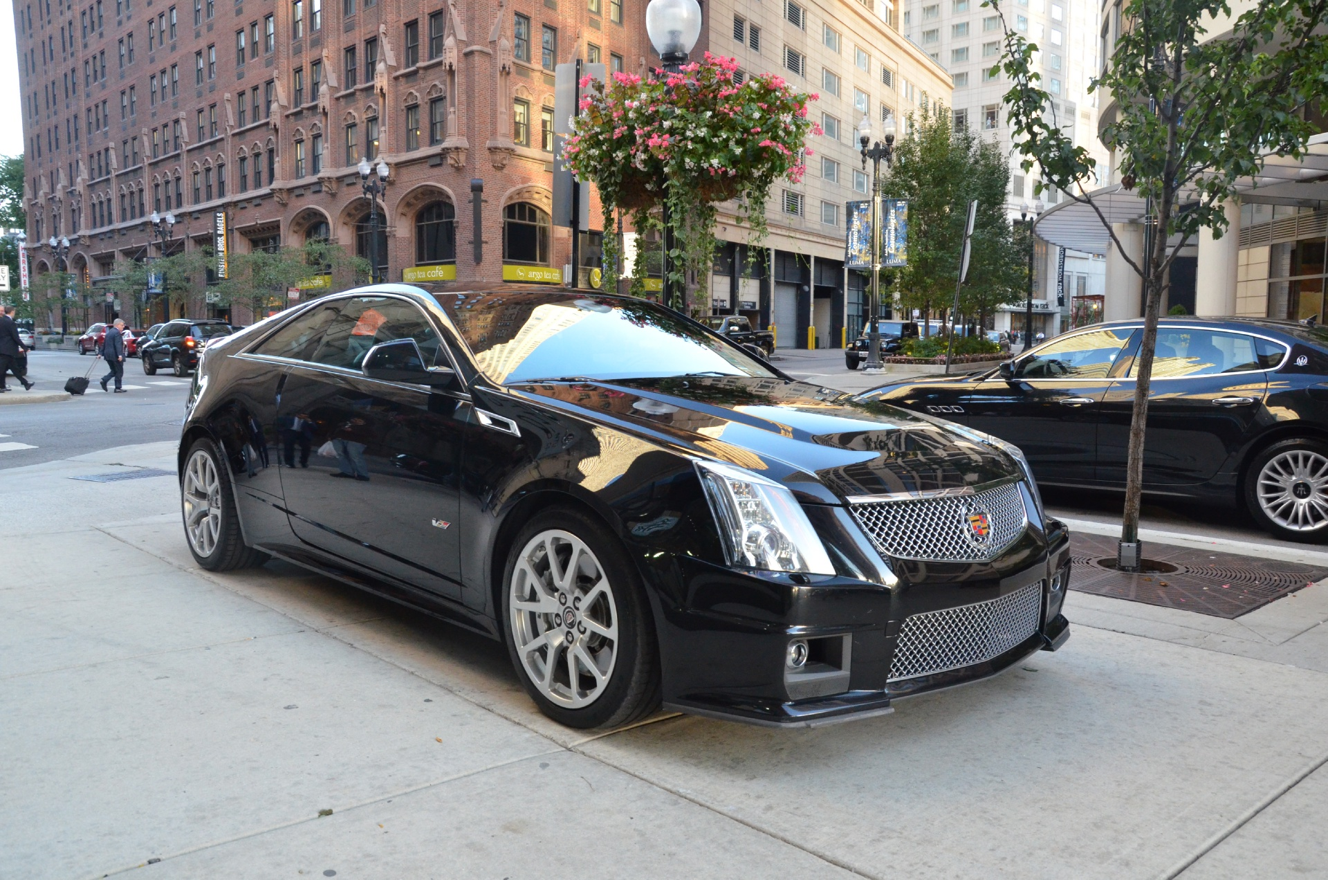 2011 cadillac cts v stock gc1117b for sale near chicago il il cadillac dealer. Black Bedroom Furniture Sets. Home Design Ideas