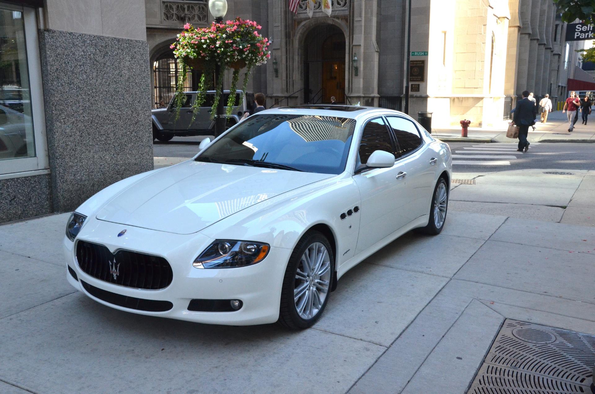 Used Maserati Quattroporte >> 2013 Maserati Quattroporte S Stock B572aa For Sale Near Chicago