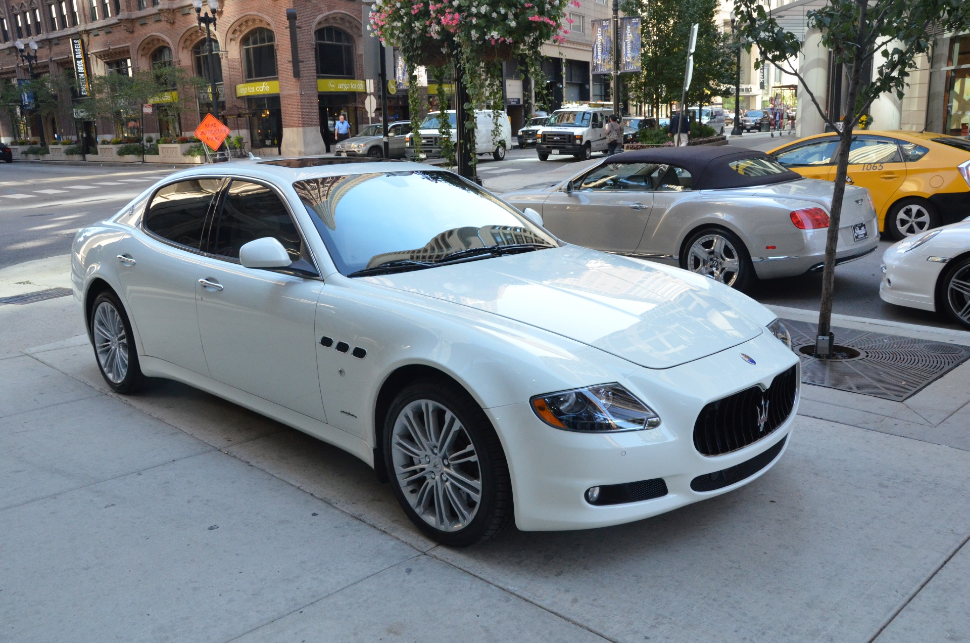 2013 maserati quattroporte s stock b572aa for sale near. Black Bedroom Furniture Sets. Home Design Ideas