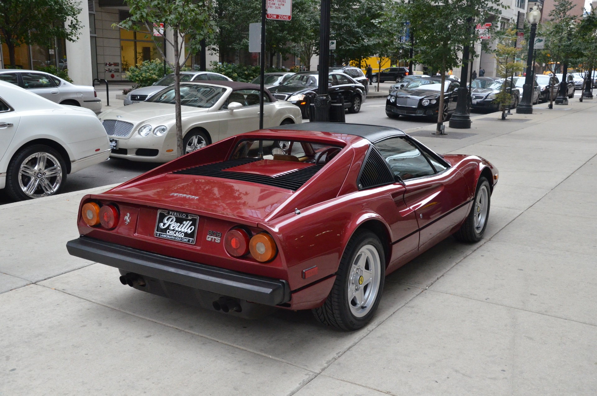 1978 Ferrari 308 GTS Stock  GC1221A for sale near Chicago IL