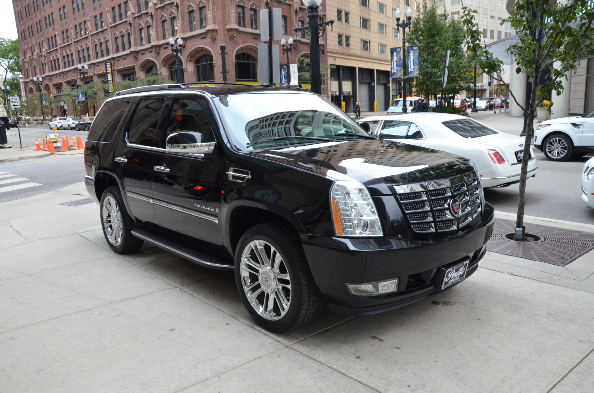 2007 cadillac escalade stock gc1174ba for sale near chicago il il cadillac dealer. Black Bedroom Furniture Sets. Home Design Ideas
