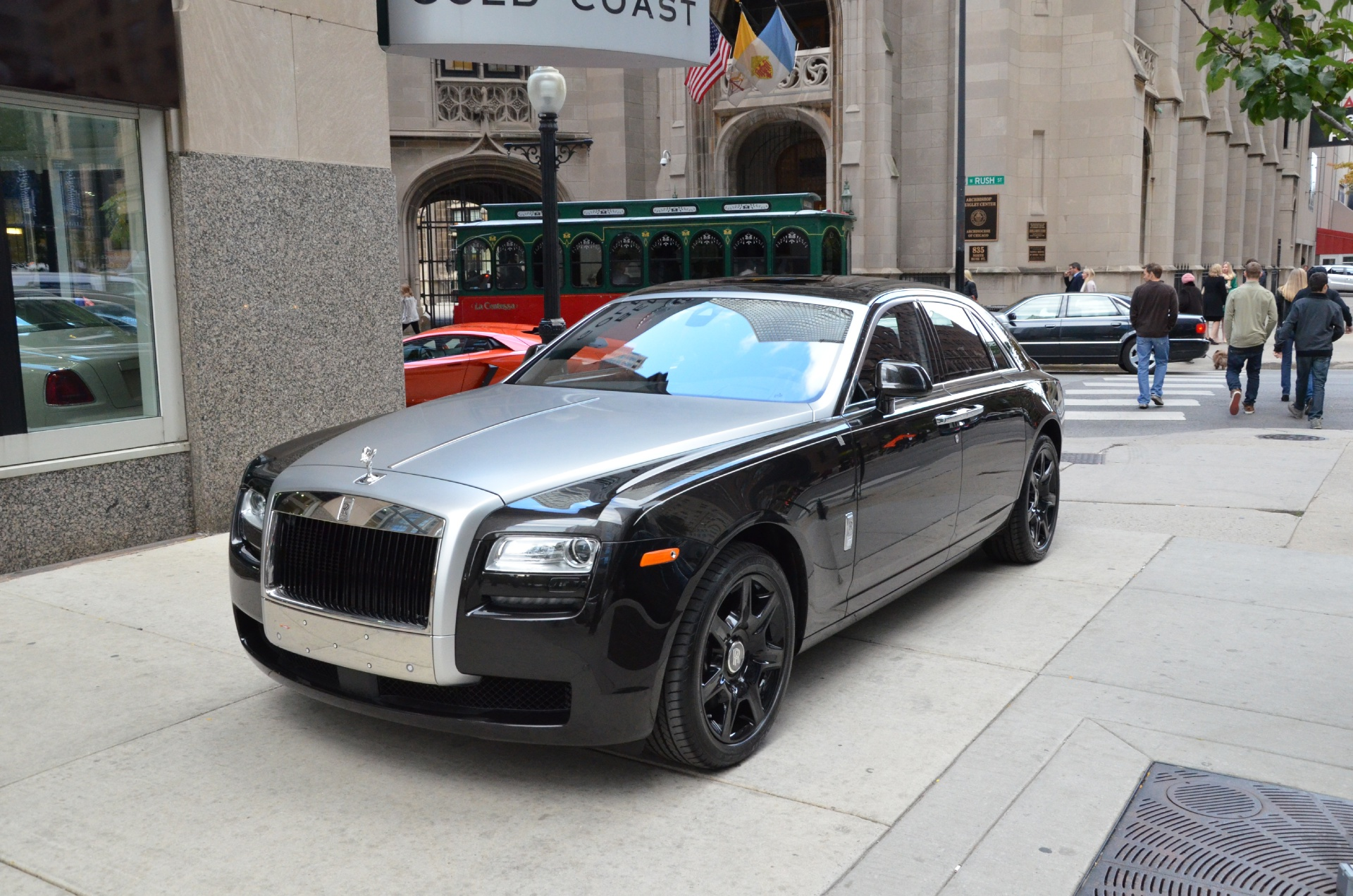 2014 rolls royce ghost stock r120 s for sale near chicago il il rolls royce dealer. Black Bedroom Furniture Sets. Home Design Ideas