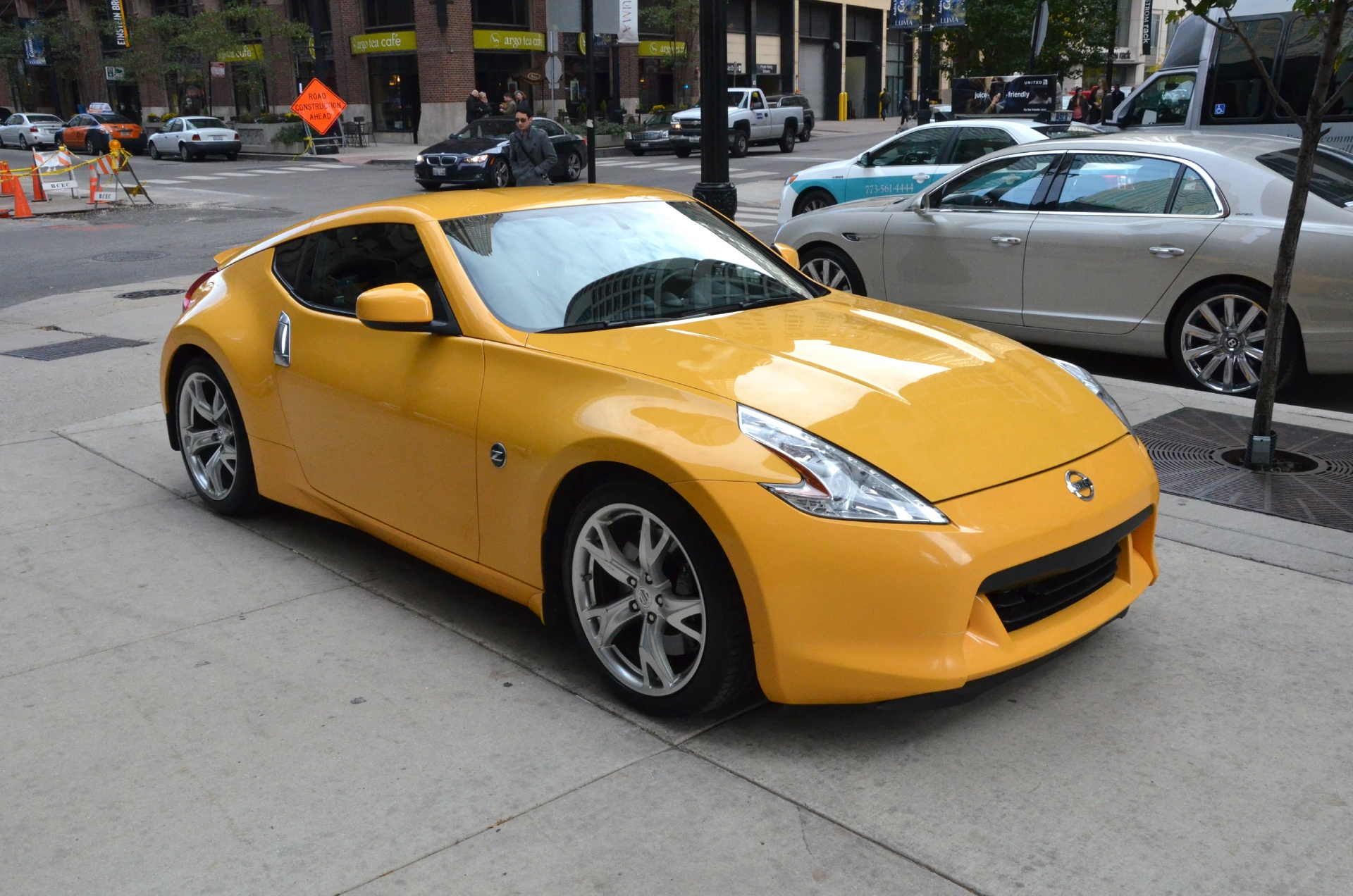 2009 nissan 370z stock 00726 for sale near chicago il. Black Bedroom Furniture Sets. Home Design Ideas