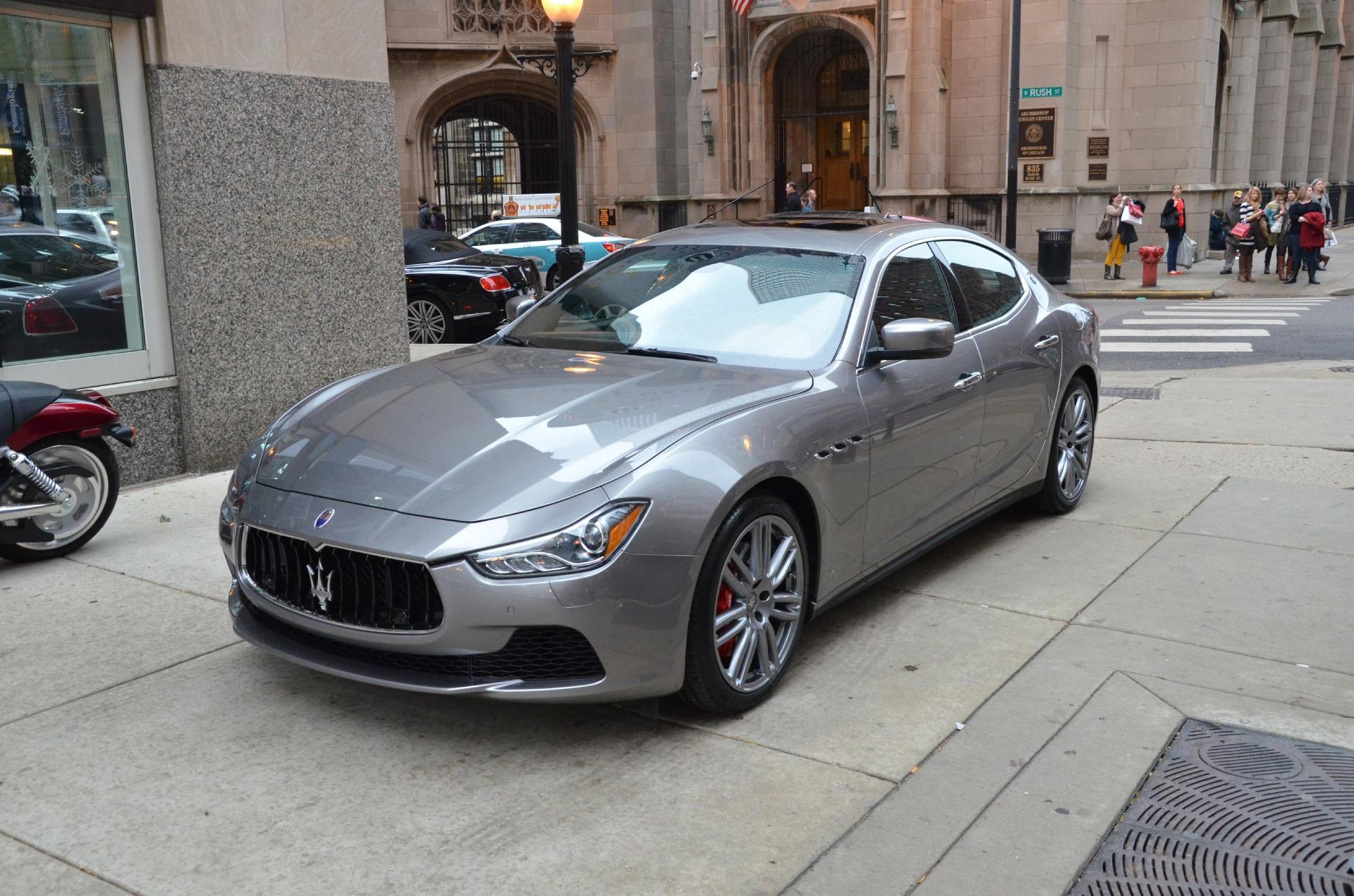 2014 Maserati Ghibli Sq4 S Q4 Stock M191 S For Sale Near Chicago Il Il Maserati Dealer