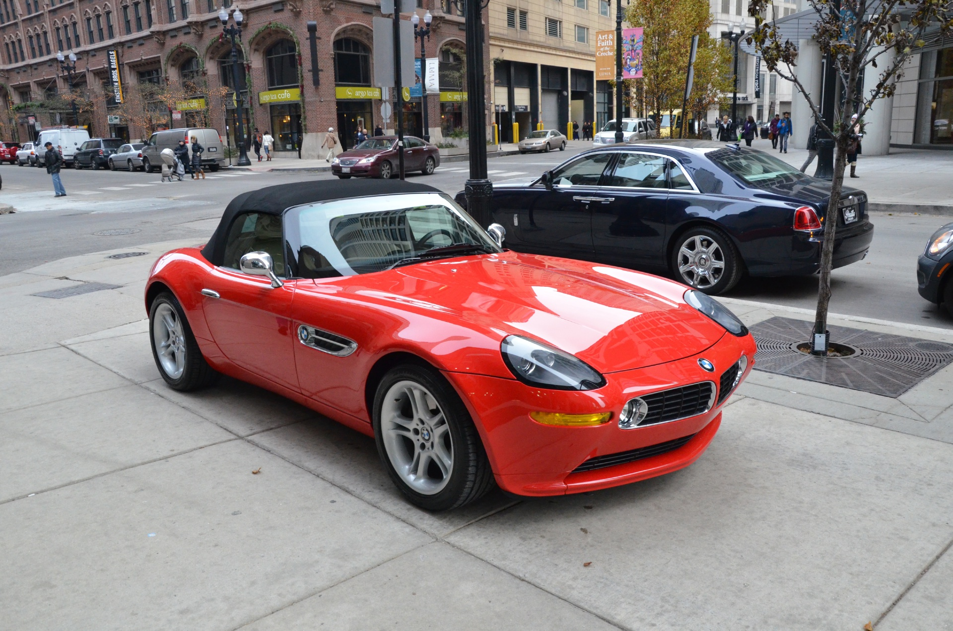 2002 bmw z8 stock gc1268 for sale near chicago il il bmw dealer. Black Bedroom Furniture Sets. Home Design Ideas