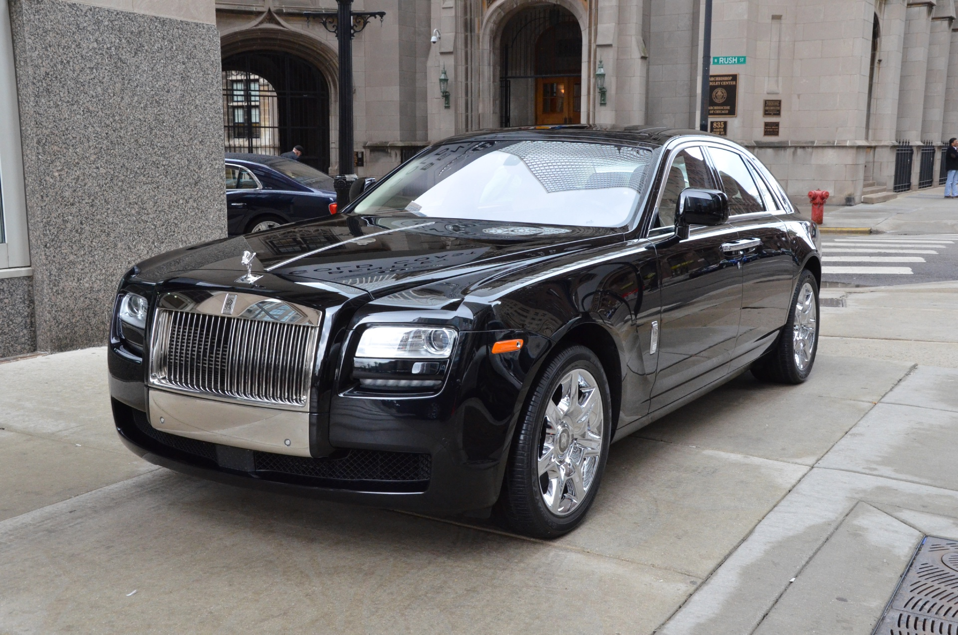 2010 rolls royce ghost stock gc1401 for sale near chicago il il rolls royce dealer. Black Bedroom Furniture Sets. Home Design Ideas