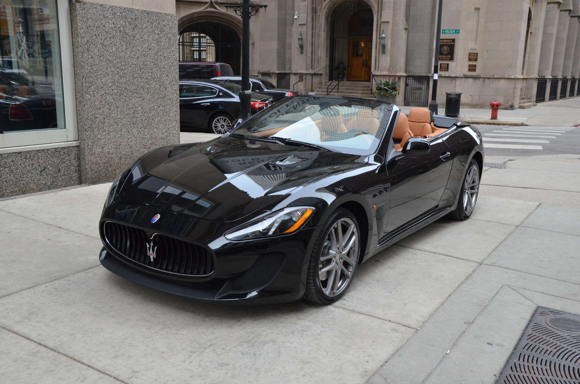 2014 maserati granturismo mc convertible stock m203 s for sale near chicago il il maserati. Black Bedroom Furniture Sets. Home Design Ideas