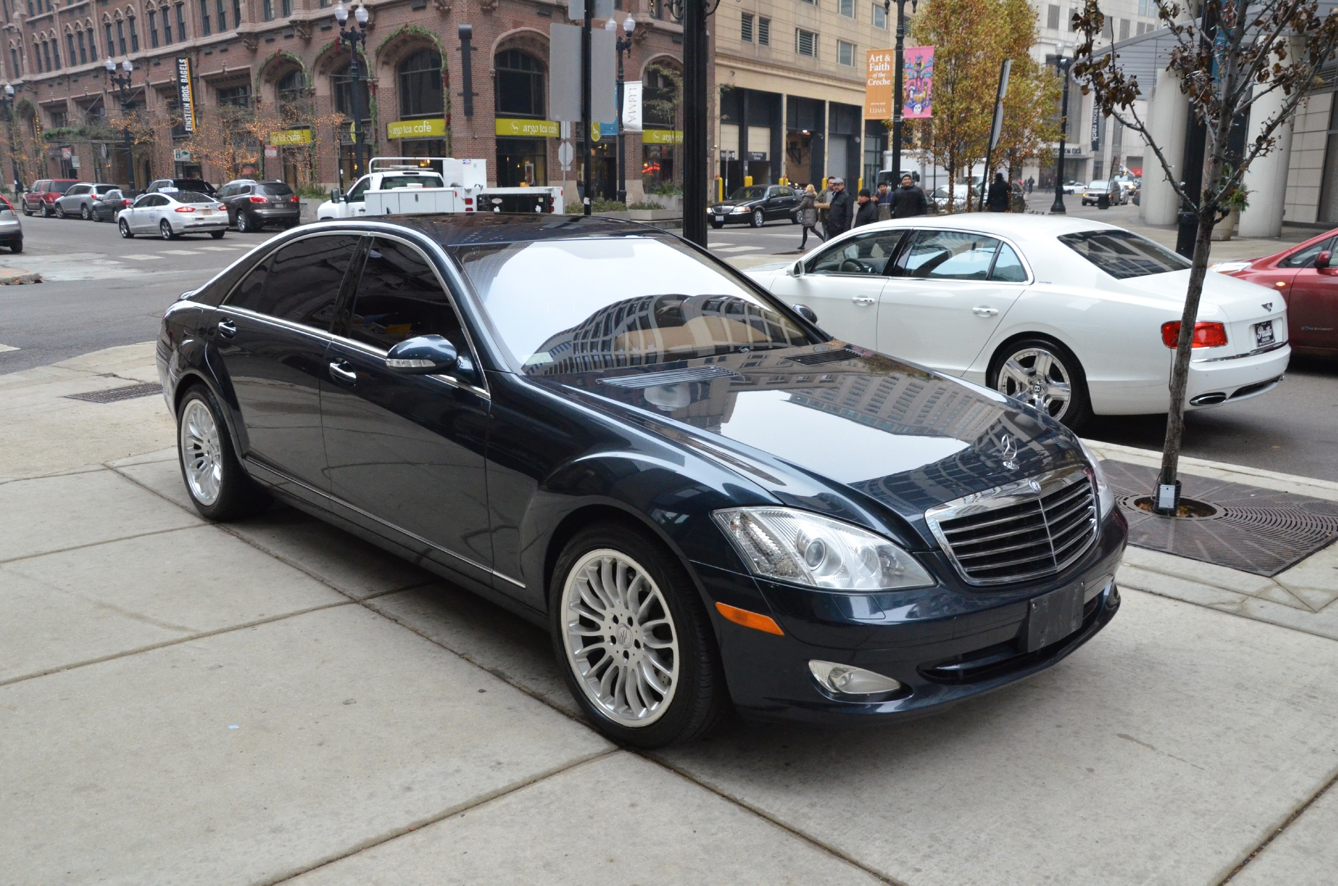 2007 mercedes benz s class s550 4matic stock 00589 for sale near chicago il il mercedes. Black Bedroom Furniture Sets. Home Design Ideas