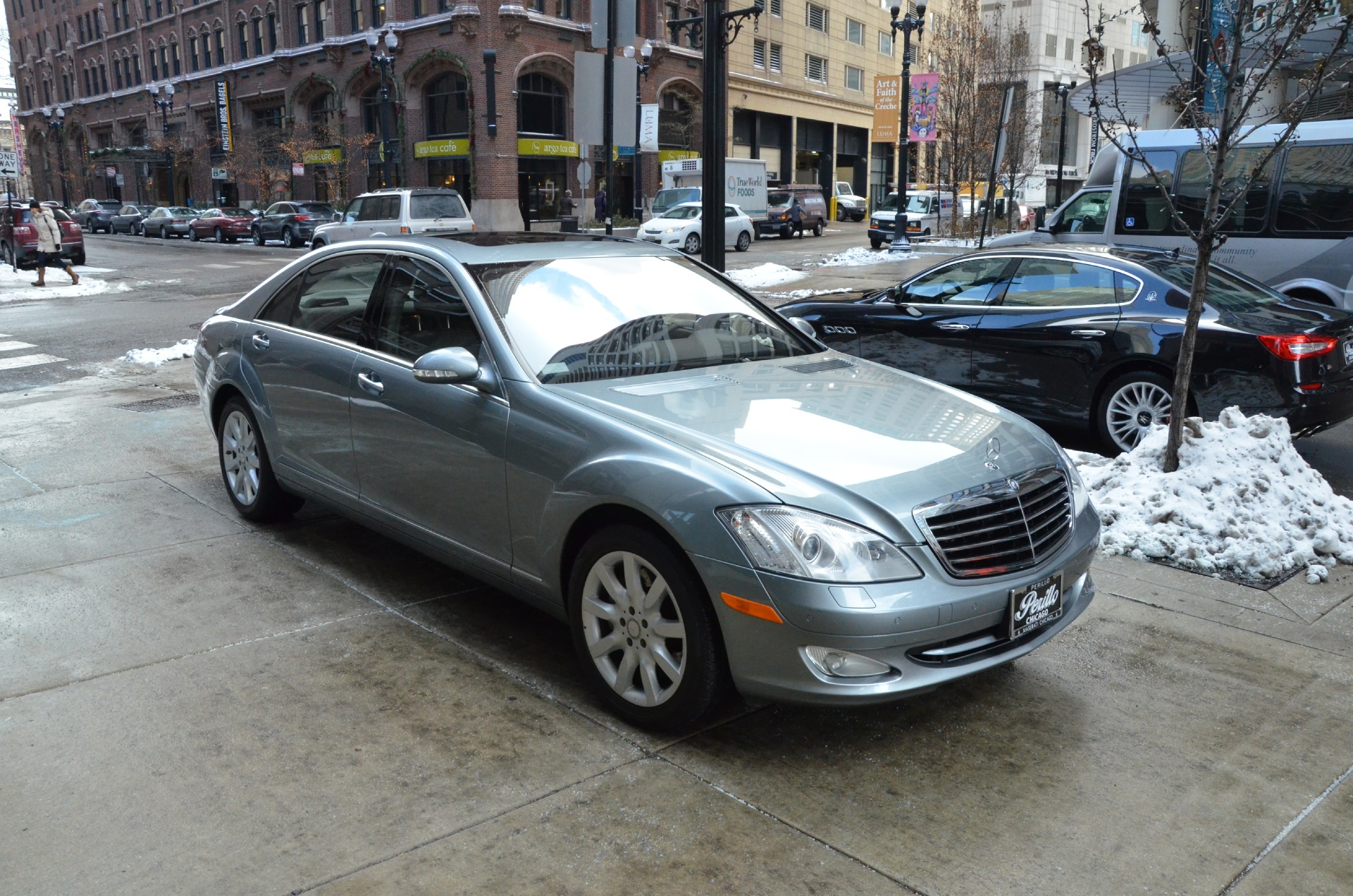 2008 mercedes benz s class s550 4matic stock b398a for for Mercedes benz dealerships in chicago area
