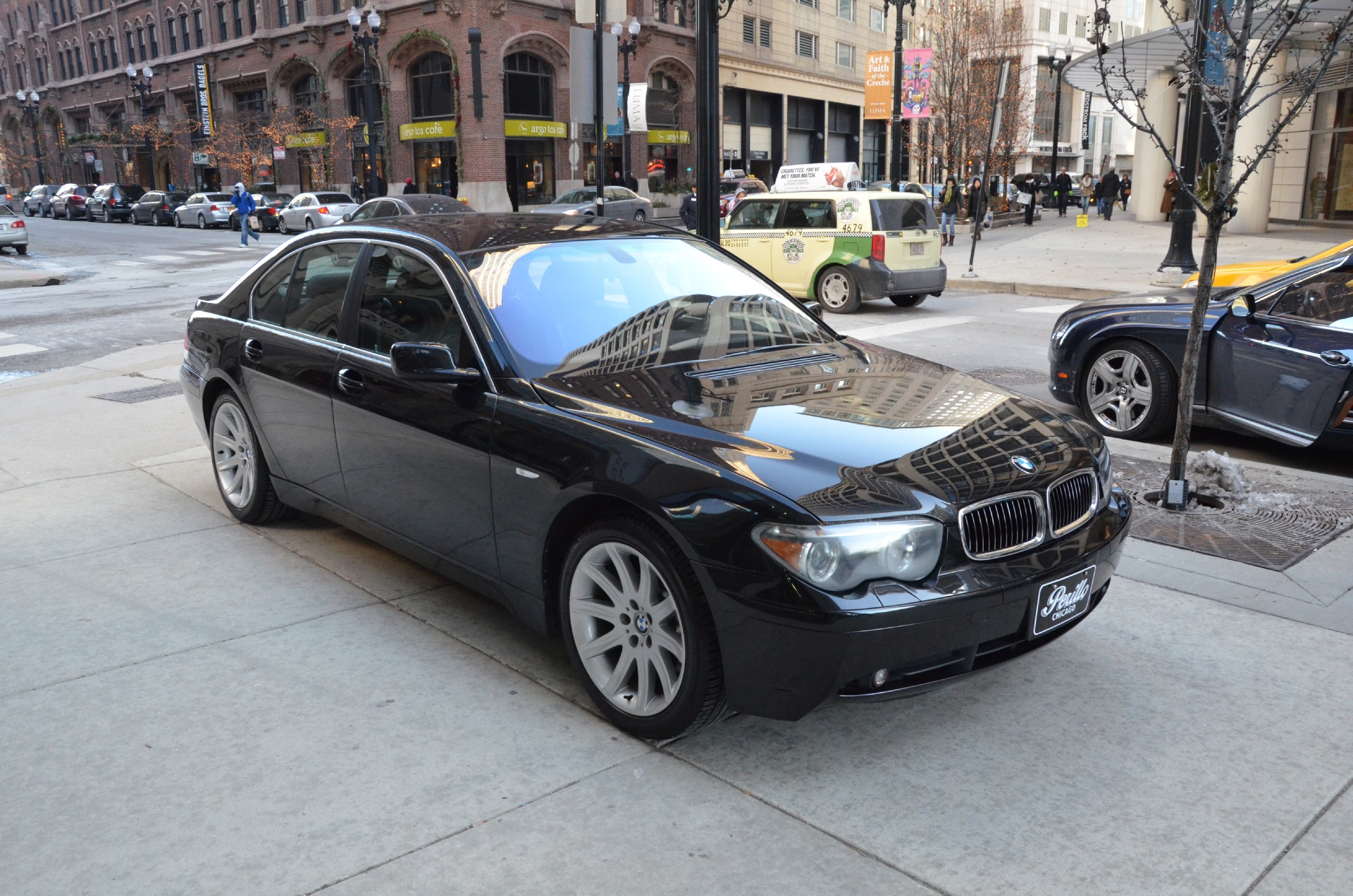 2002 bmw 7 series 745i stock 54413 for sale near chicago il il bmw dealer. Black Bedroom Furniture Sets. Home Design Ideas