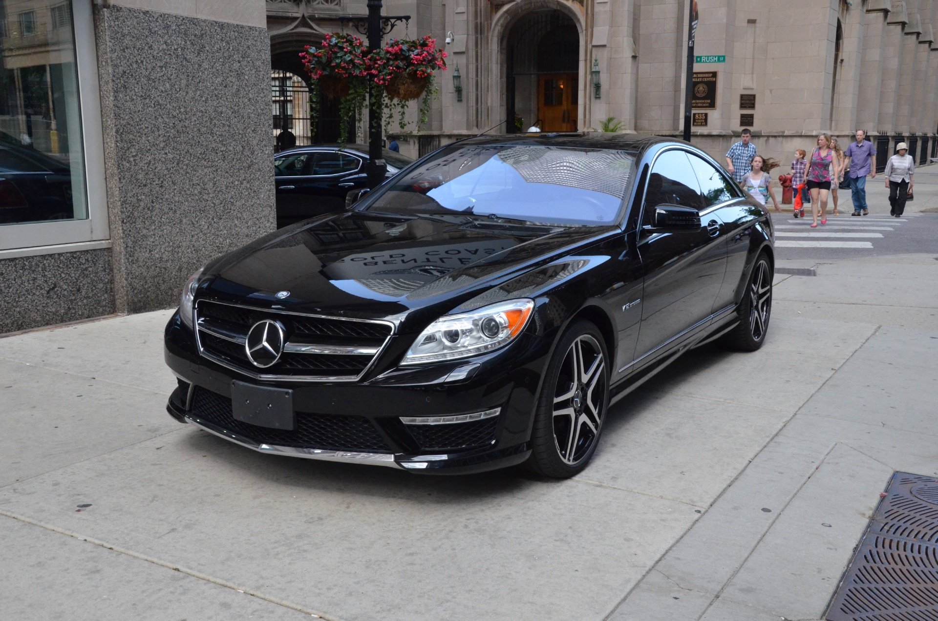 2012 mercedes benz cl class cl65 amg stock gc1313 for for Chicagoland mercedes benz dealers