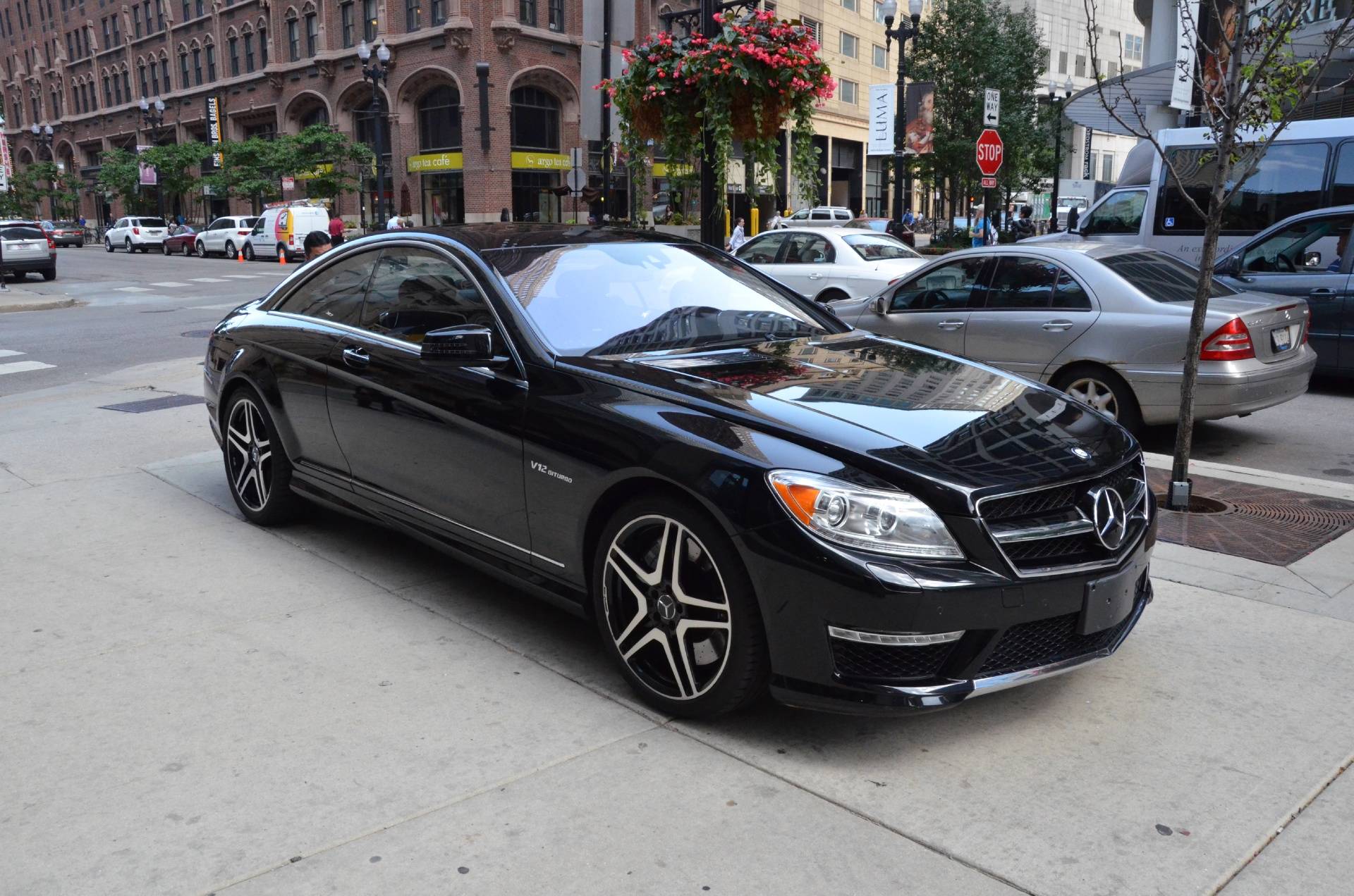 2012 mercedes benz cl class cl65 amg stock gc1313 for for Mercedes benz dealerships in chicago area