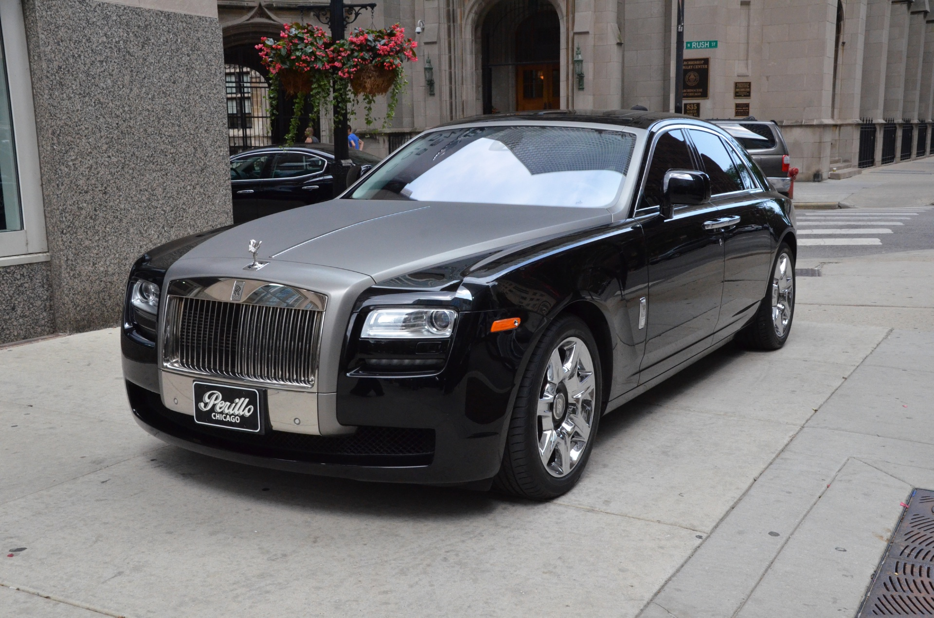 2010 rolls royce ghost stock gc1321 for sale near chicago il il rolls royce dealer. Black Bedroom Furniture Sets. Home Design Ideas