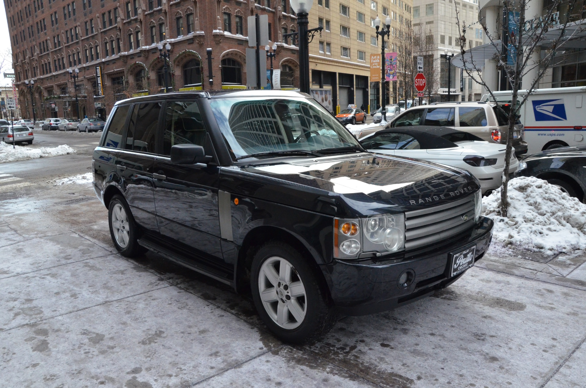 2005 land rover range rover hse stock m263a for sale near chicago il il land rover dealer. Black Bedroom Furniture Sets. Home Design Ideas
