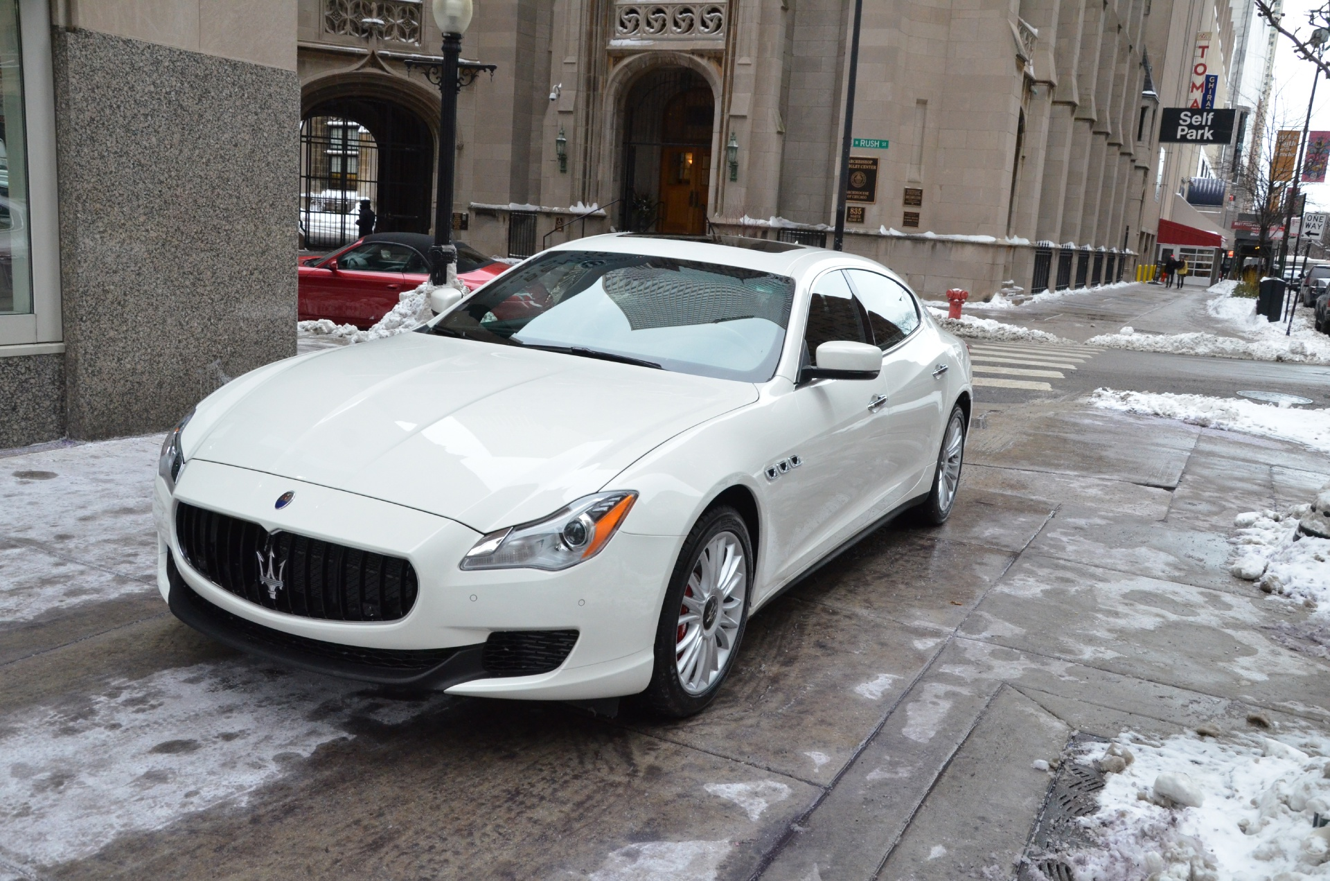 2014 maserati quattroporte sq4 s q4 stock m256 for sale near chicago il il maserati dealer. Black Bedroom Furniture Sets. Home Design Ideas