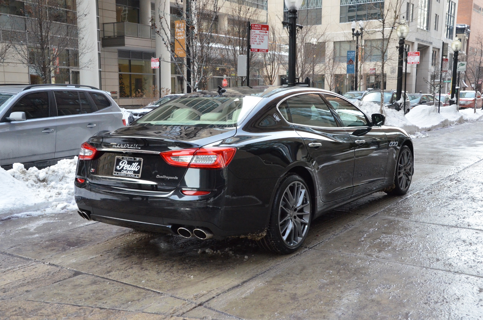 2014 maserati quattroporte s q4 s q4 stock m274 s for sale near chicago il il maserati dealer. Black Bedroom Furniture Sets. Home Design Ideas