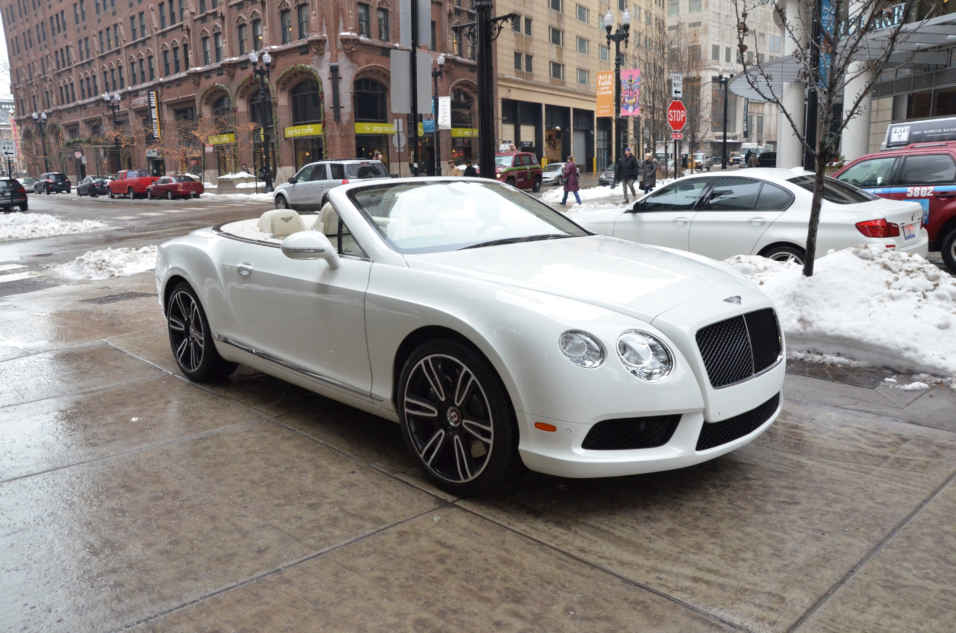 2014 Bentley Continental GTC V8 Stock B569 S for sale near Chicago