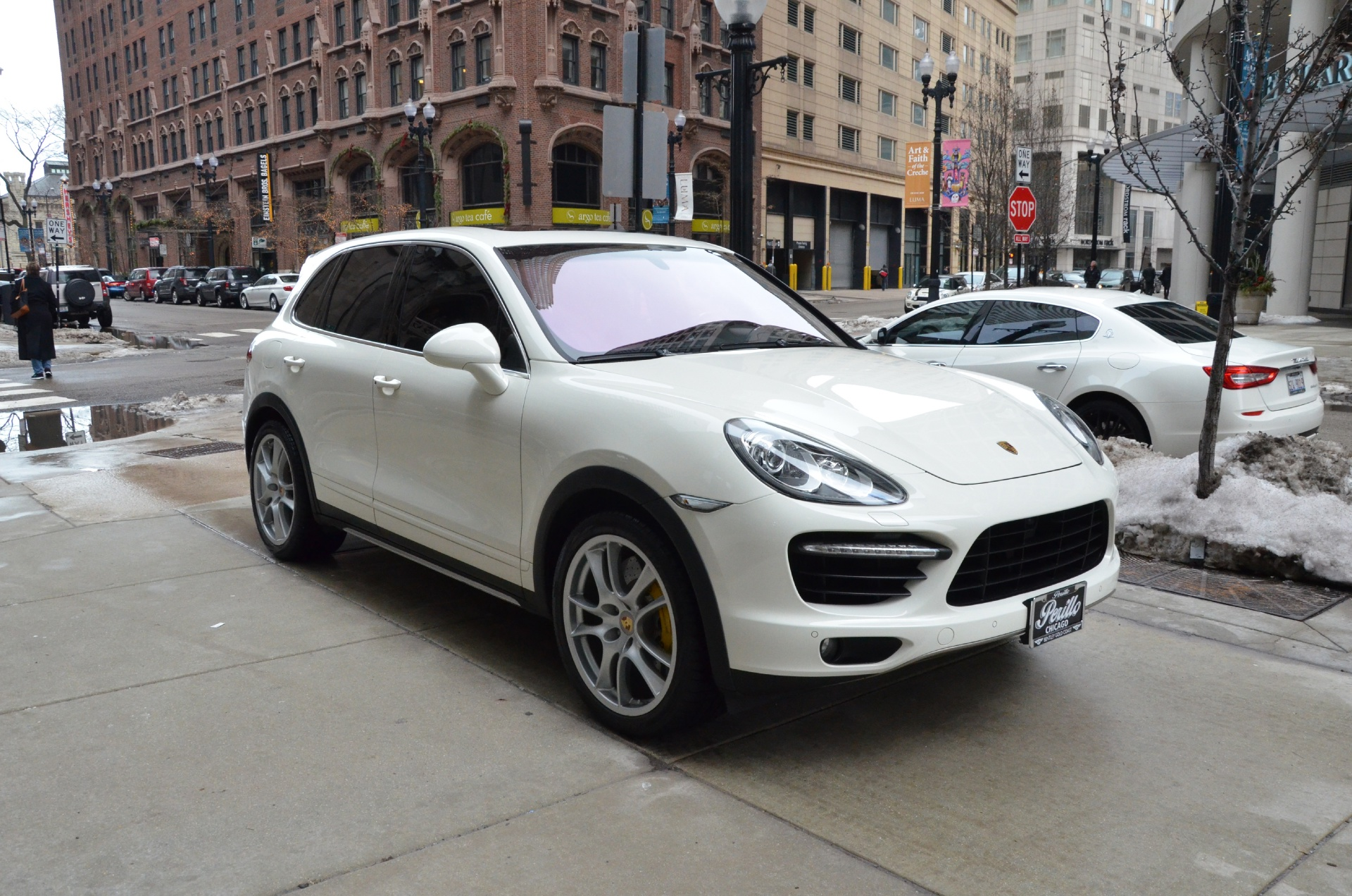 2011 porsche cayenne turbo stock b536b for sale near. Black Bedroom Furniture Sets. Home Design Ideas