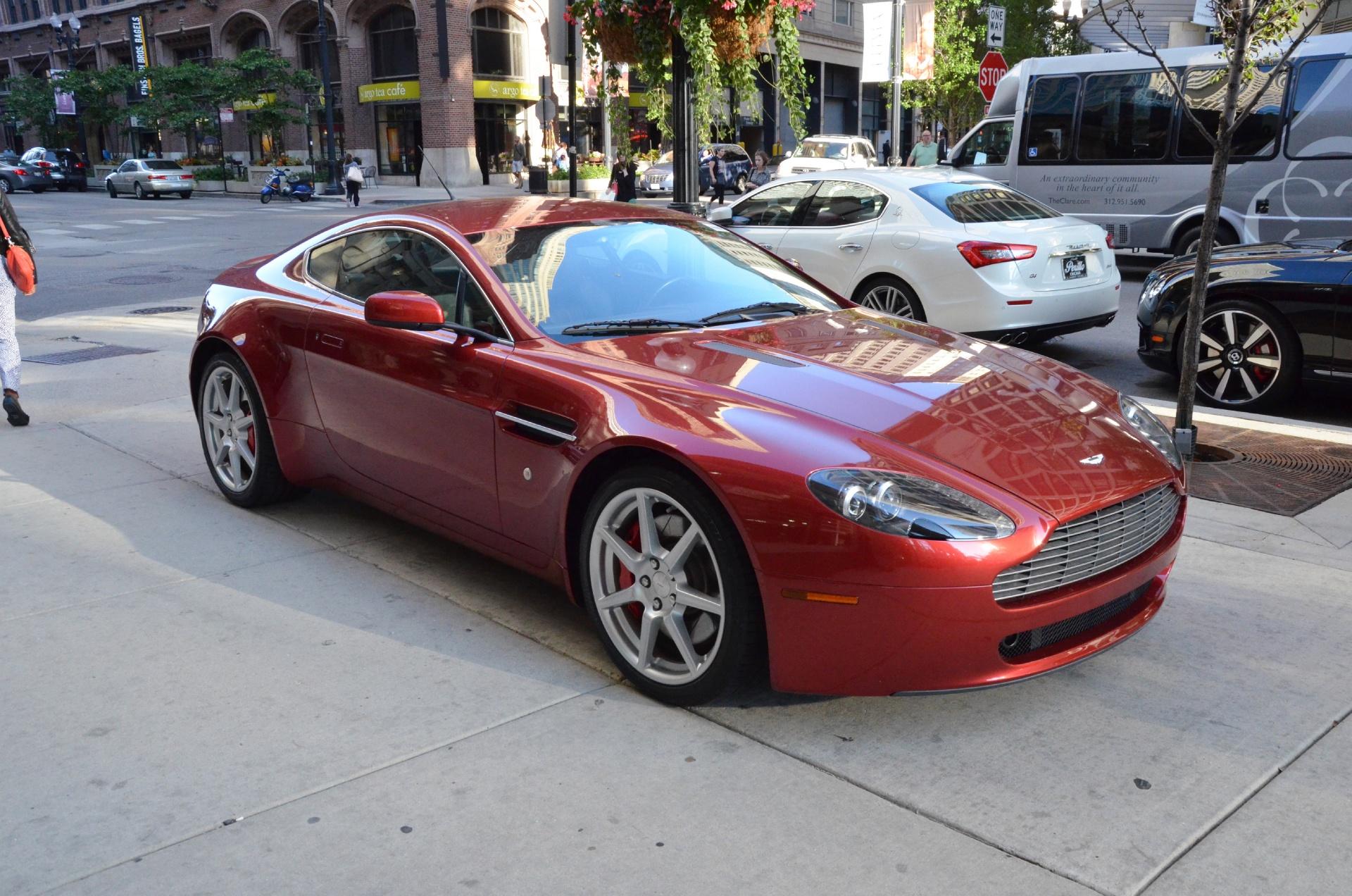 2007 Aston Martin V8 Vantage Stock Gc1322a For Sale Near Chicago Il Il Aston Martin Dealer