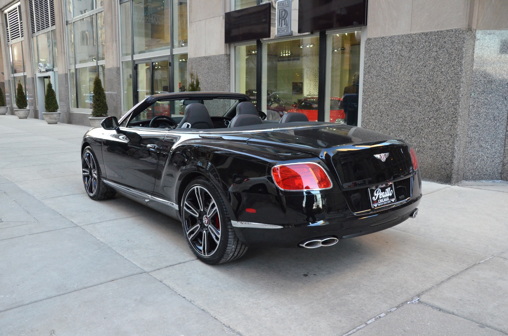 2014 Bentley Continental GTC V8 Stock B558 for sale near Chicago
