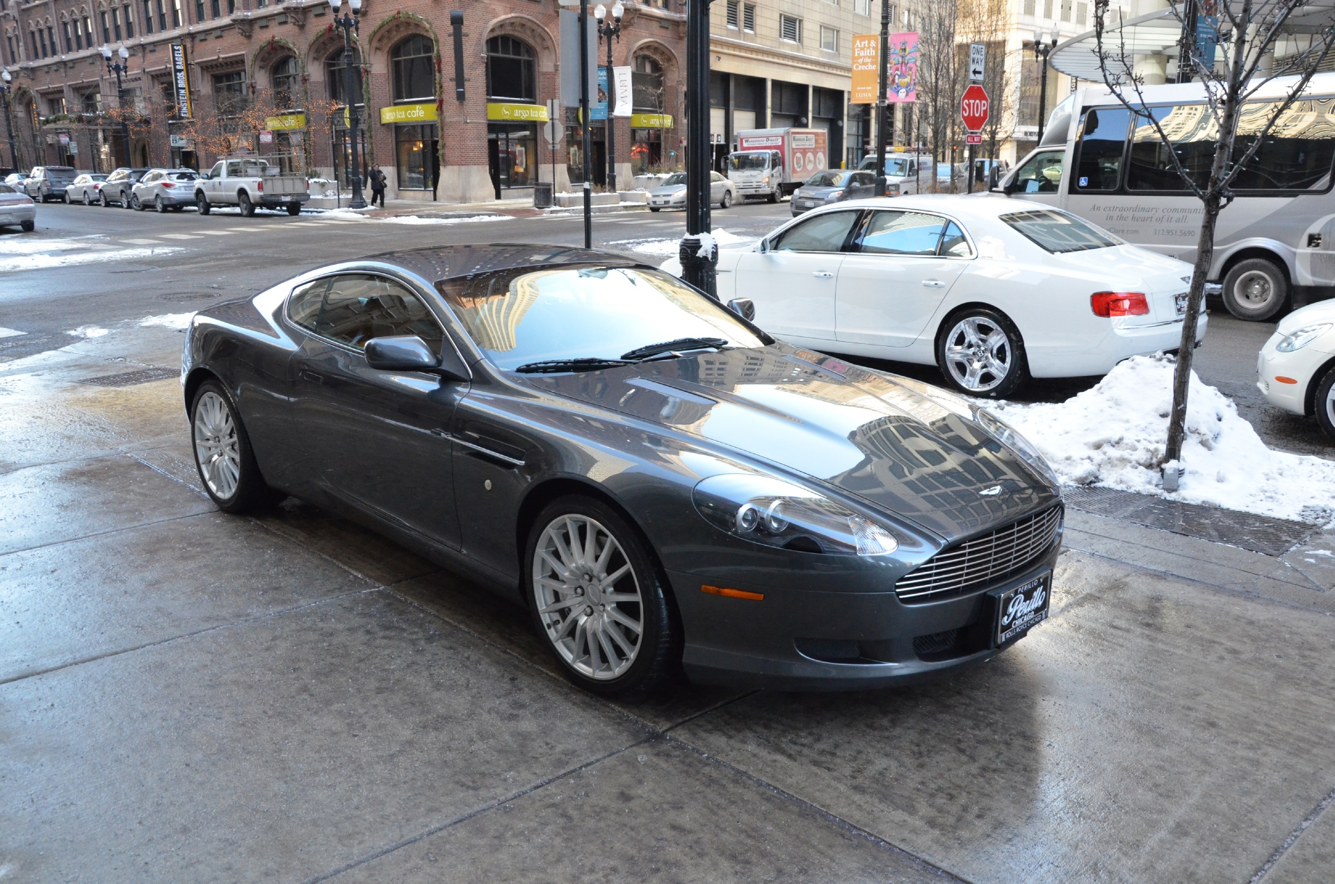 service manual  replace 2005 aston martin db9 sideview