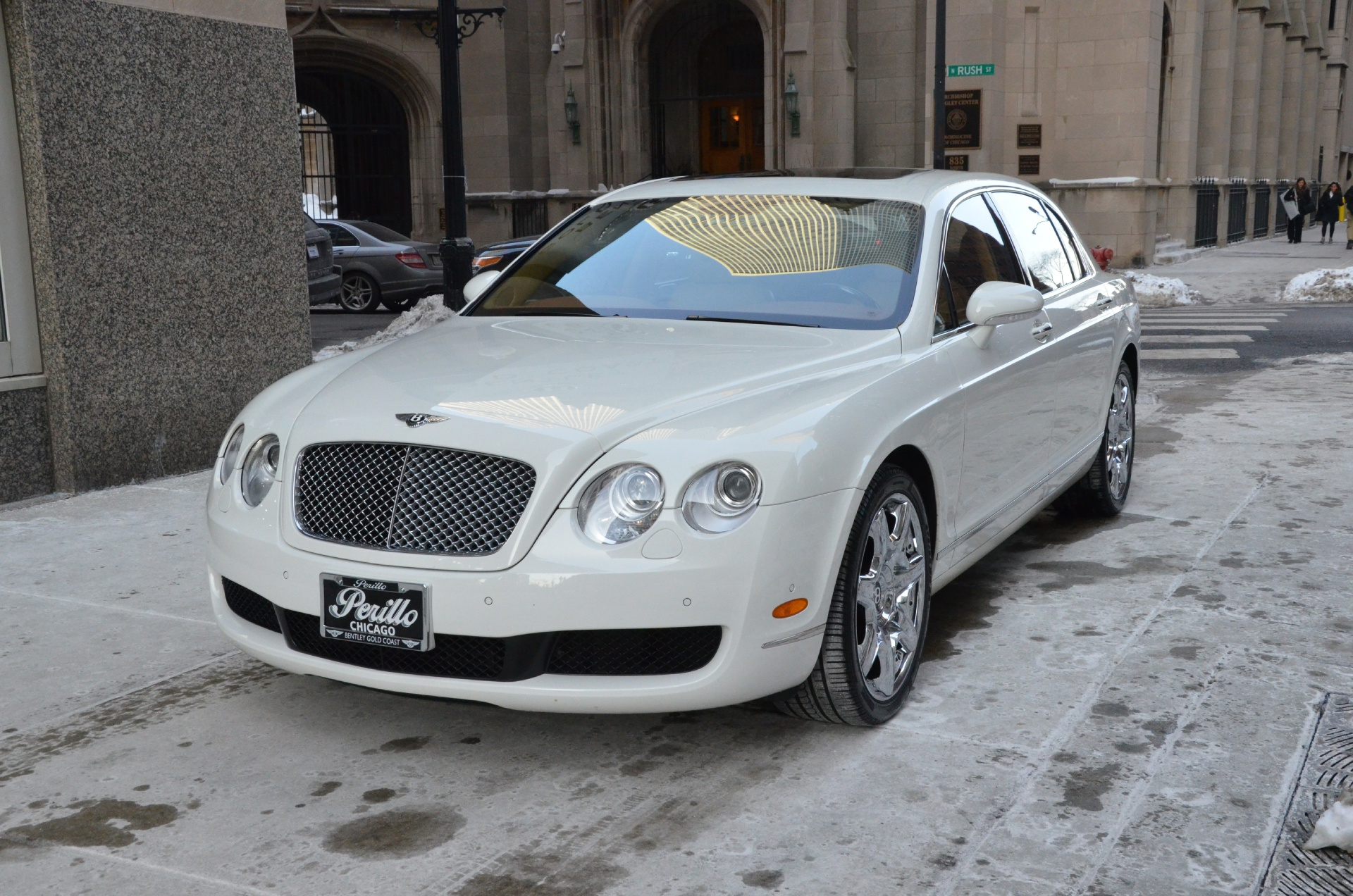 2007 bentley continental flying spur stock r118a for sale near chicago il il bentley dealer. Black Bedroom Furniture Sets. Home Design Ideas