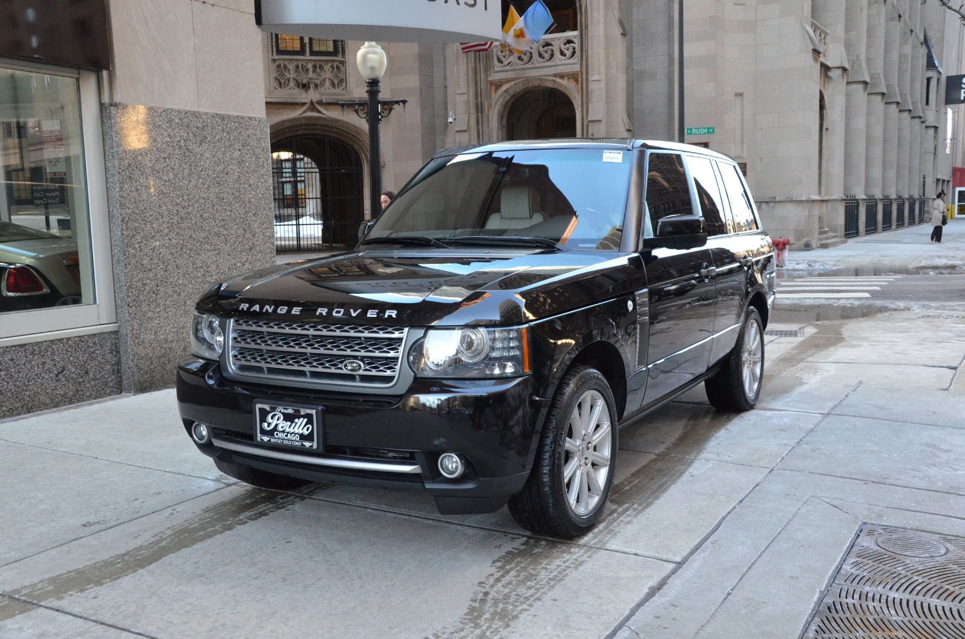 2011 land rover range rover supercharged stock m195a for sale near chicago il il land rover. Black Bedroom Furniture Sets. Home Design Ideas