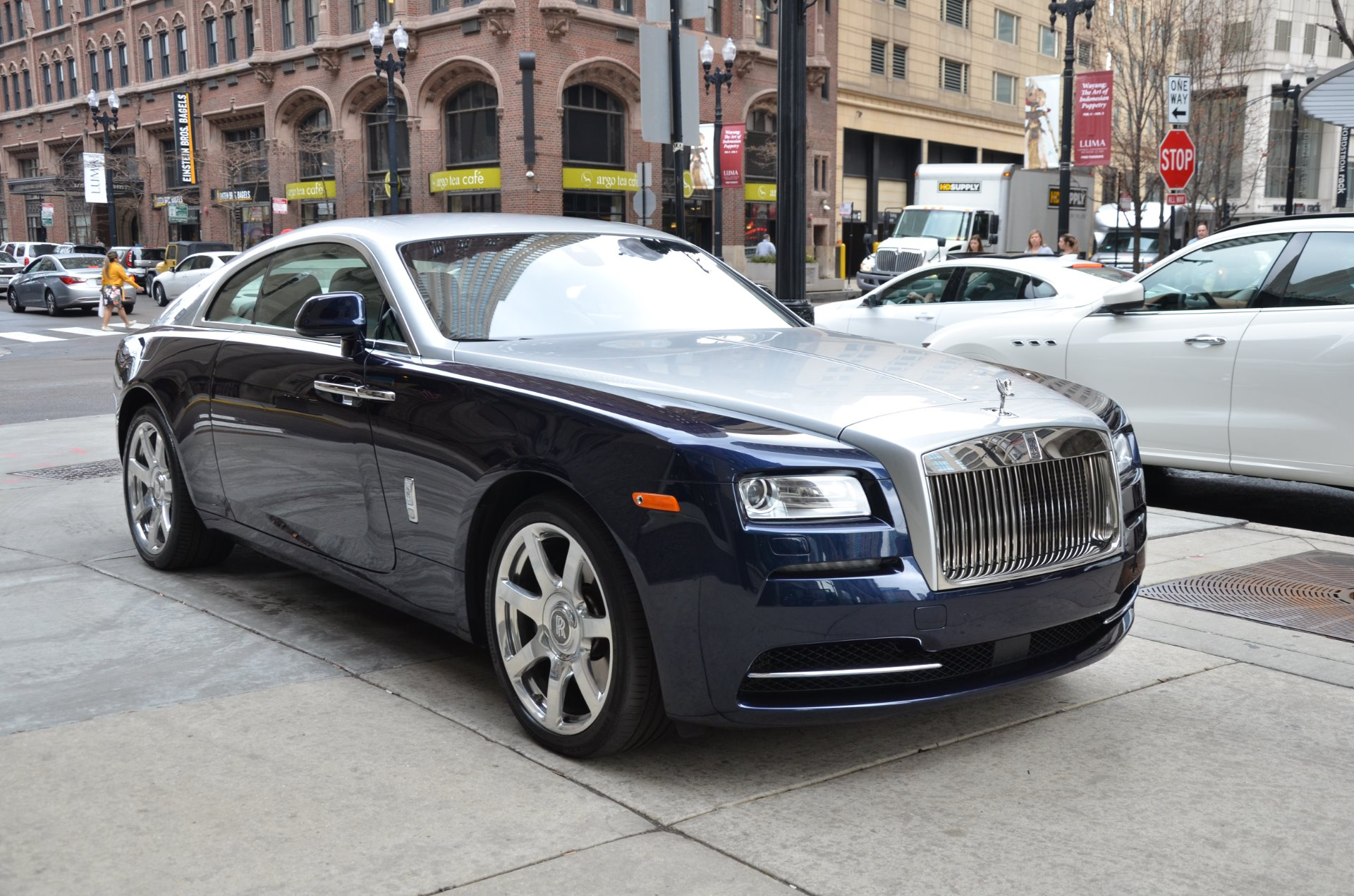 2014 rolls royce wraith stock r313a for sale near chicago il il rolls royce dealer. Black Bedroom Furniture Sets. Home Design Ideas