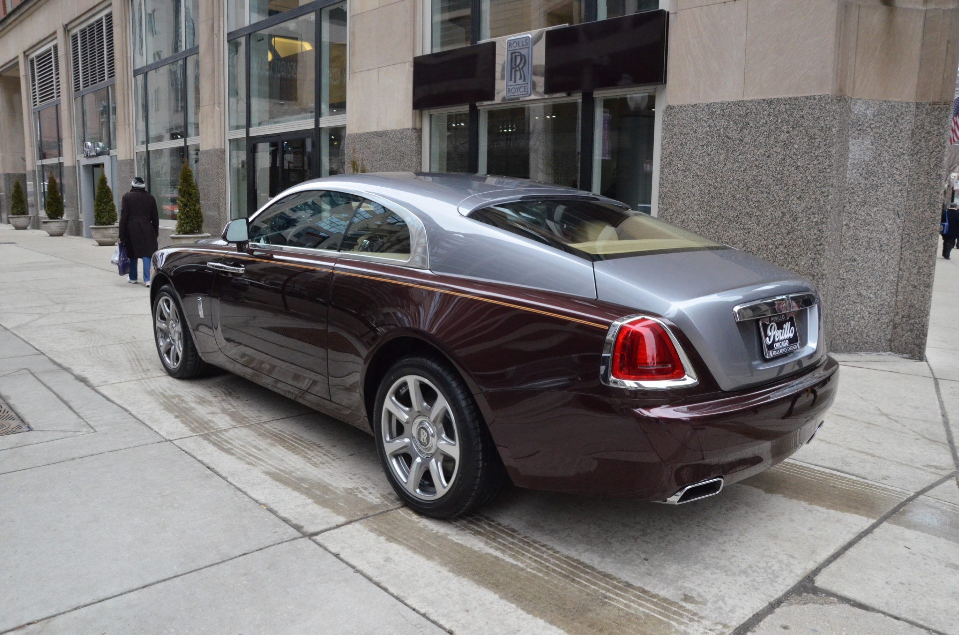 2014 rolls royce wraith stock r128 for sale near chicago. Black Bedroom Furniture Sets. Home Design Ideas