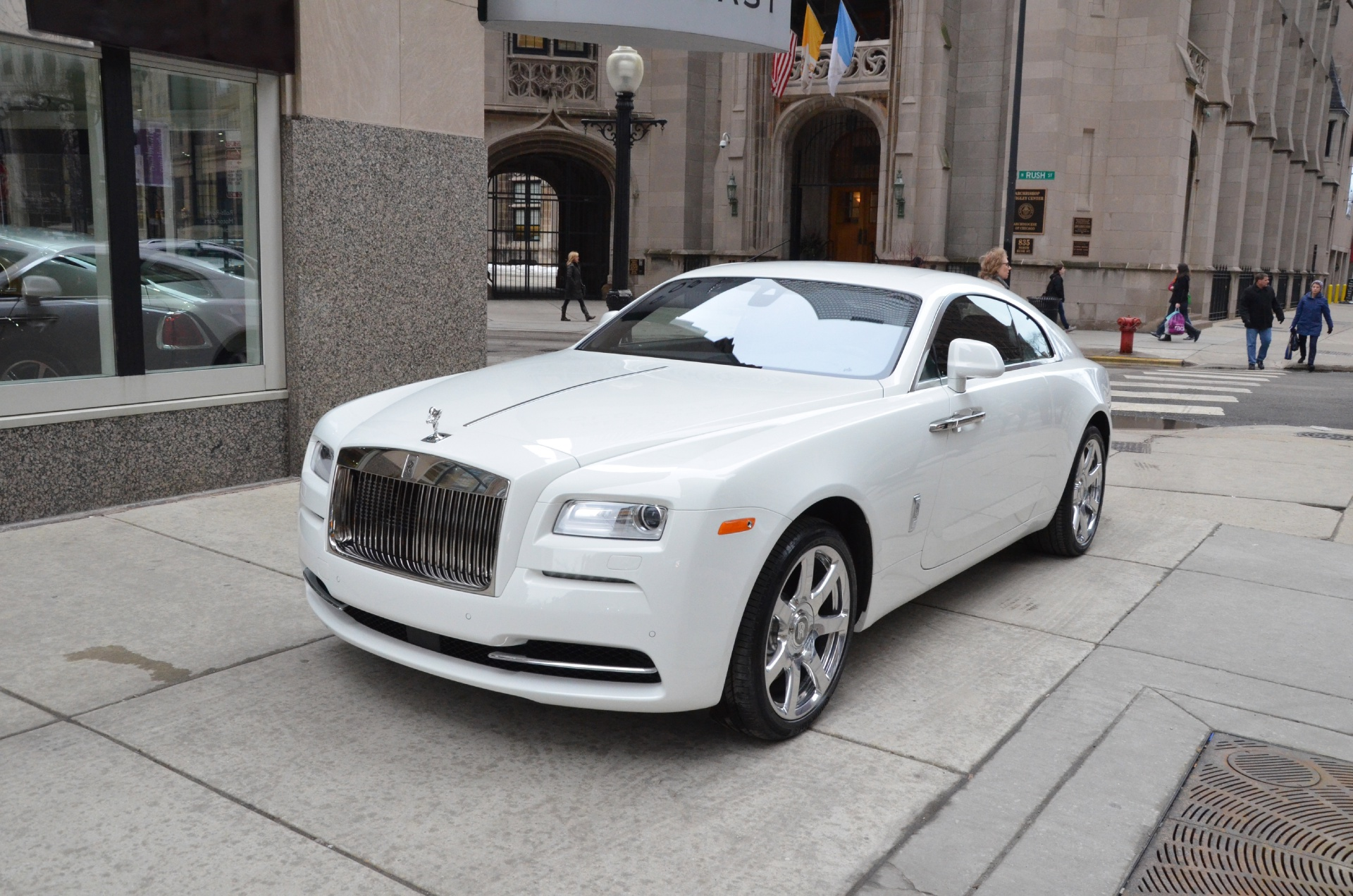 2014 rolls royce wraith stock r131 s for sale near chicago il il rolls royce dealer. Black Bedroom Furniture Sets. Home Design Ideas