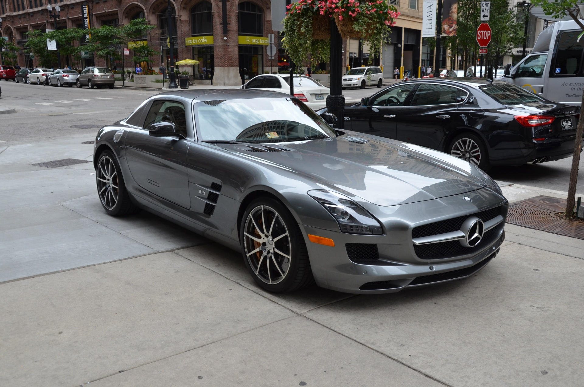 2012 mercedes benz sls class sls amg stock l189a for sale near chicago il il mercedes benz. Black Bedroom Furniture Sets. Home Design Ideas