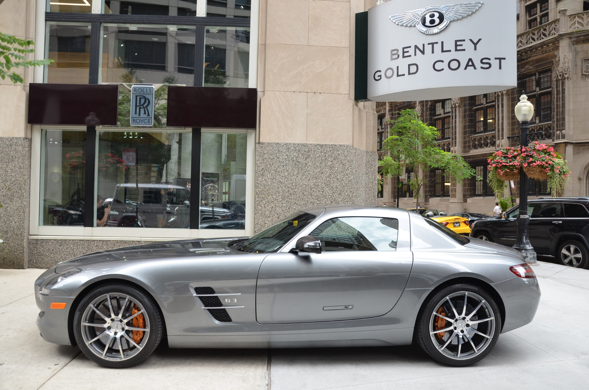 2012 mercedes benz sls class sls amg stock l189a for for Mercedes benz dealerships in chicago area