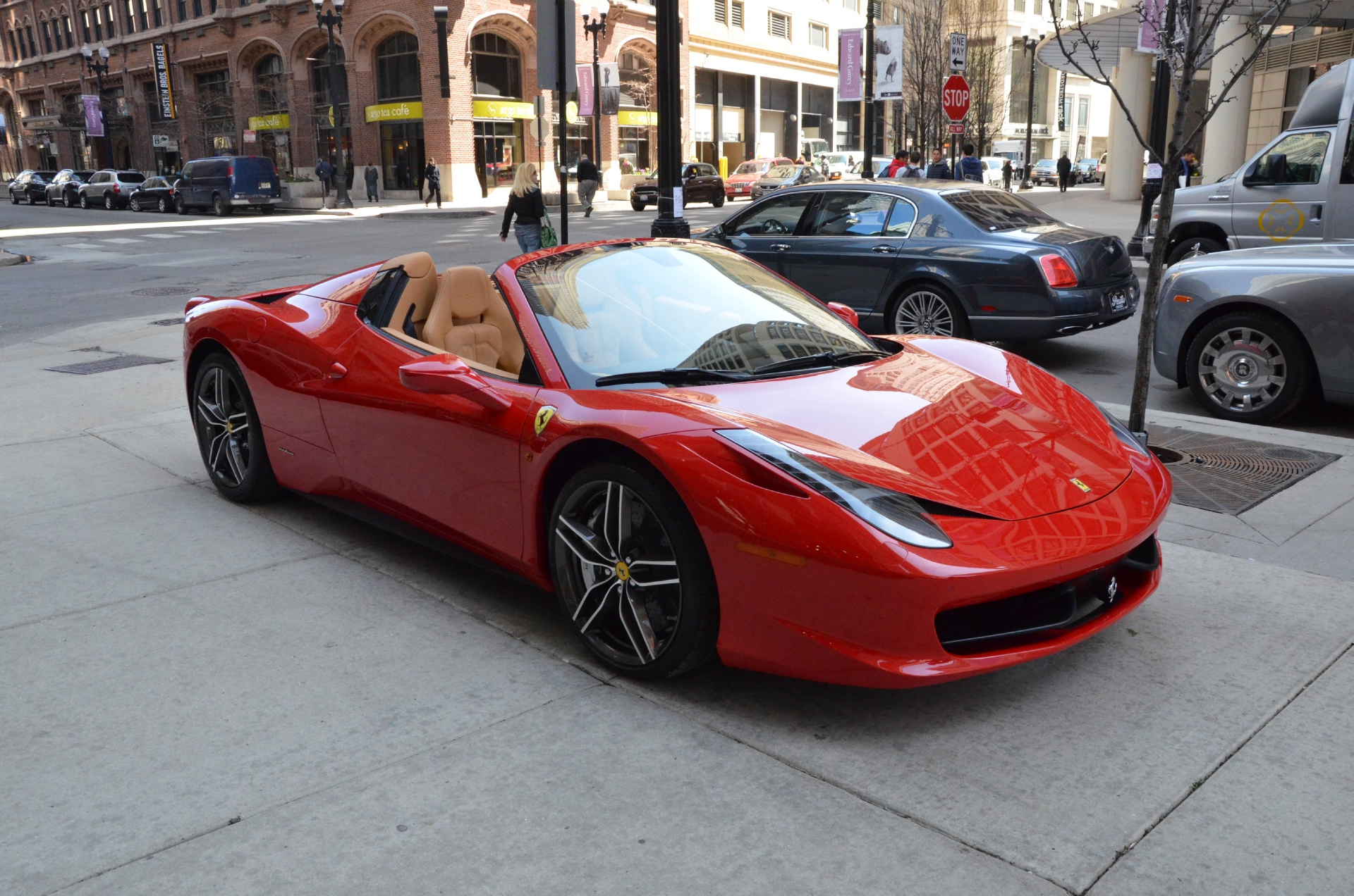 2013 ferrari 458 spider stock gc1456a for sale near chicago il used 2013 ferrari 458 spider chicago il vanachro Image collections