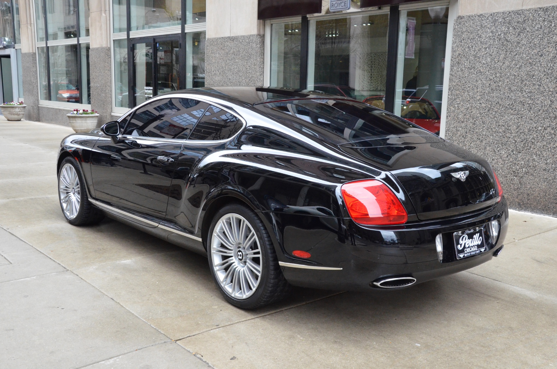 2008 bentley continental gt speed stock b585a for sale near chicago il il bentley dealer. Black Bedroom Furniture Sets. Home Design Ideas