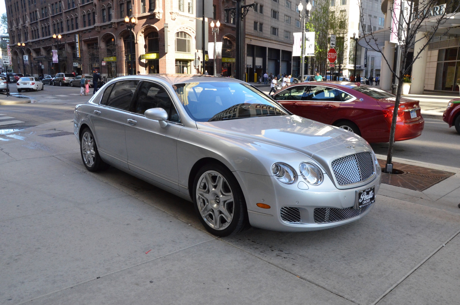 2009 bentley continental flying spur mulliner stock b597a for sale near chicago il il. Black Bedroom Furniture Sets. Home Design Ideas