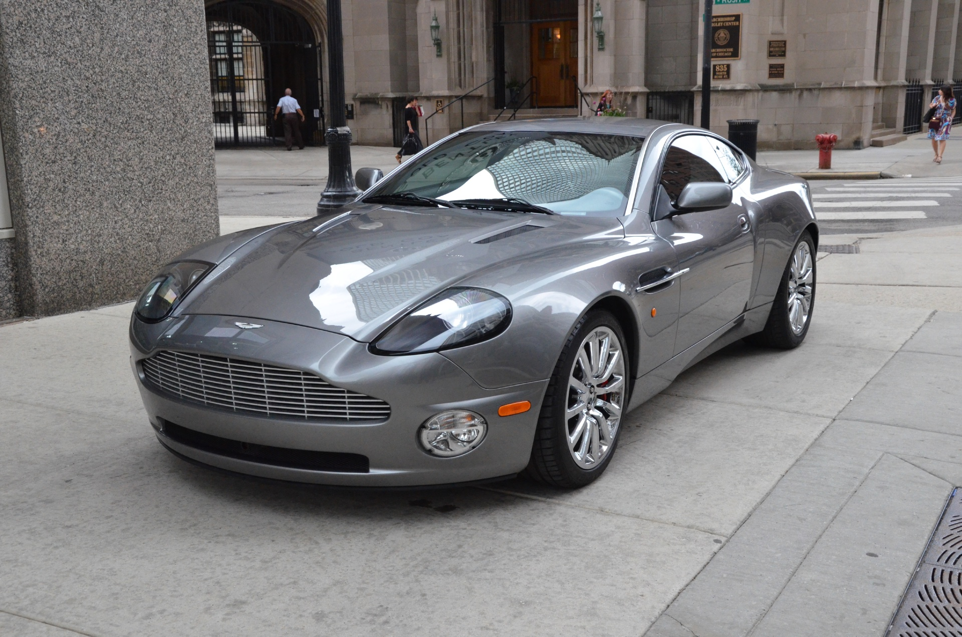 2003 aston martin v12 vanquish stock gc1394 for sale. Black Bedroom Furniture Sets. Home Design Ideas