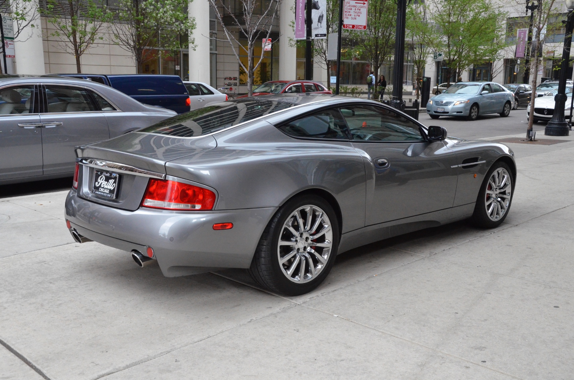 Aston Martin V Vanquish Stock GC For Sale Near Chicago - Aston martin v12 vanquish