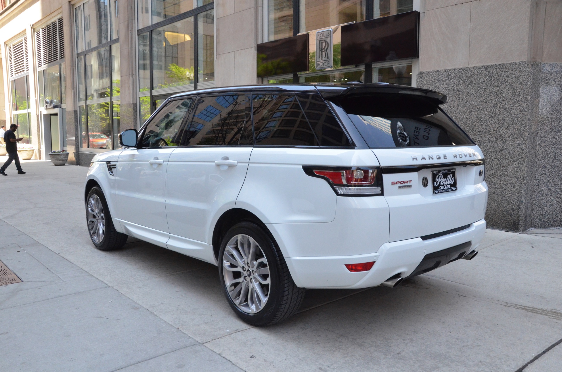 2014 land rover range rover sport supercharged stock gc1414 for sale near chicago il il. Black Bedroom Furniture Sets. Home Design Ideas