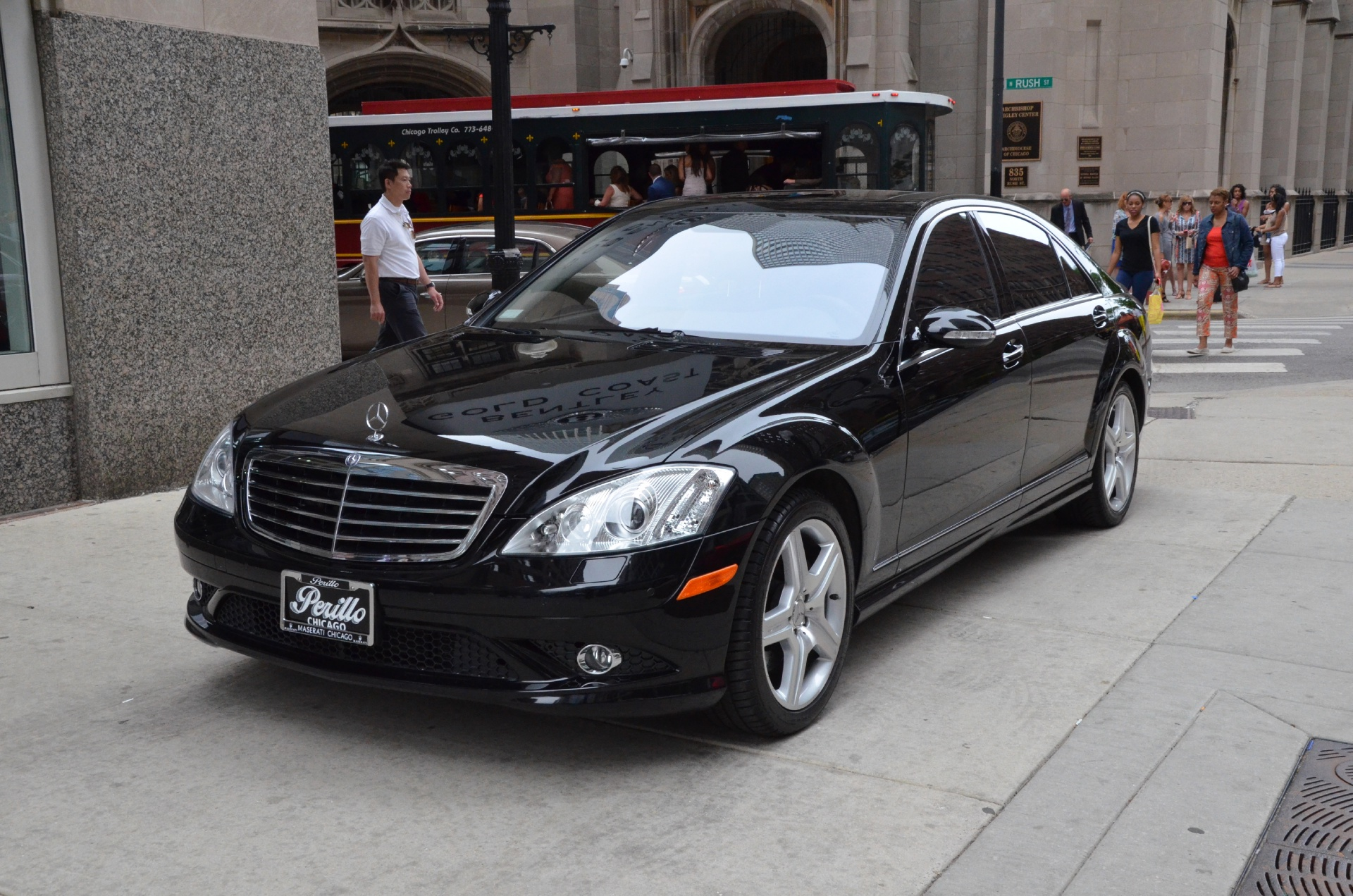 2008 mercedes benz s class s550 4matic stock gc1400a for sale near chicago il il mercedes. Black Bedroom Furniture Sets. Home Design Ideas