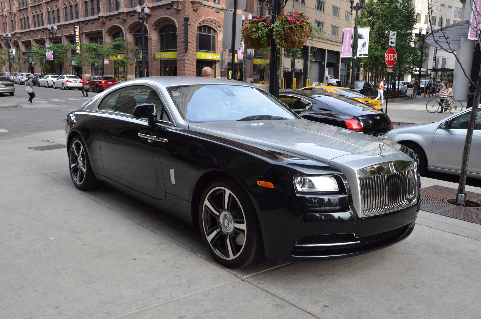 2014 rolls royce wraith stock r142 s for sale near chicago il il rolls royce dealer. Black Bedroom Furniture Sets. Home Design Ideas