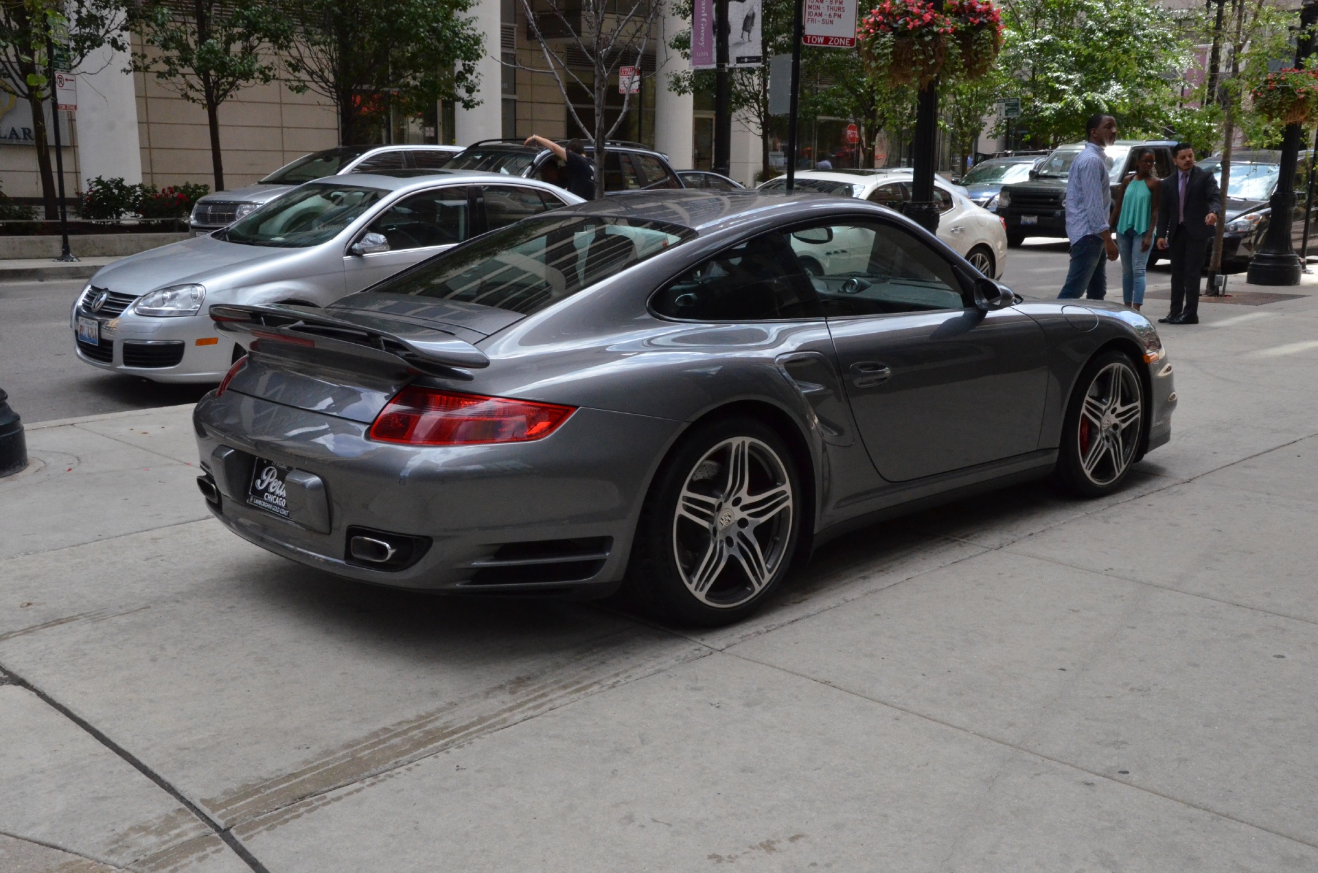 2009 porsche 911 turbo stock l112a for sale near chicago. Black Bedroom Furniture Sets. Home Design Ideas
