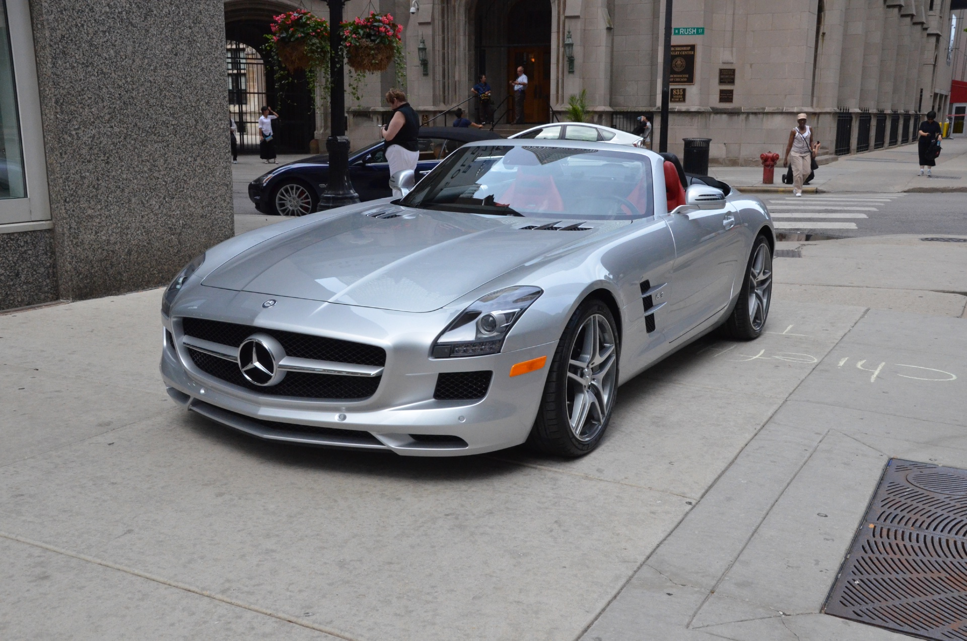 2012 mercedes benz sls class sls amg stock b614a for for Mercedes benz chicago dealers