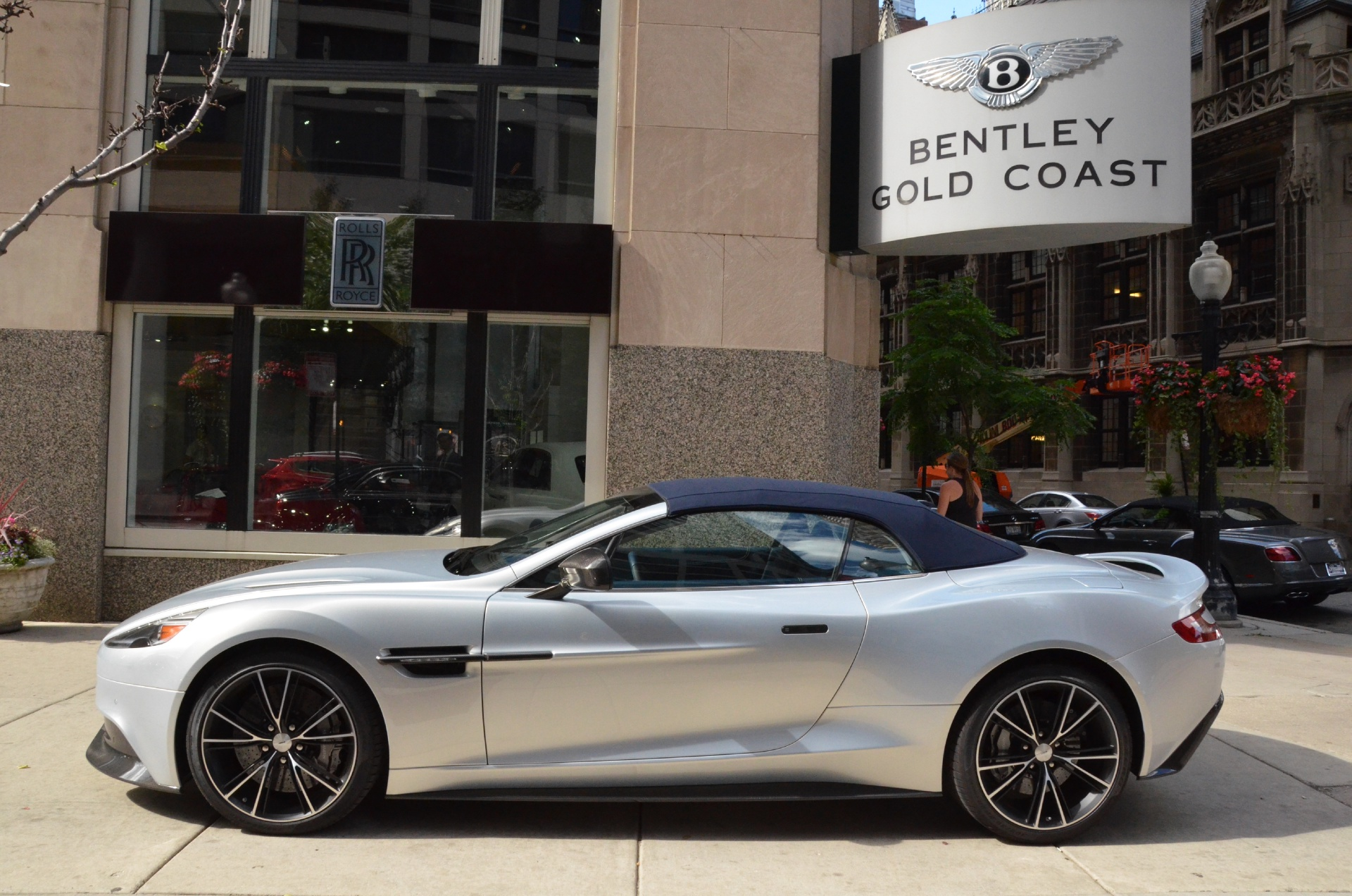 2014 Aston Martin Vanquish Convertible Stock Gc1444 S