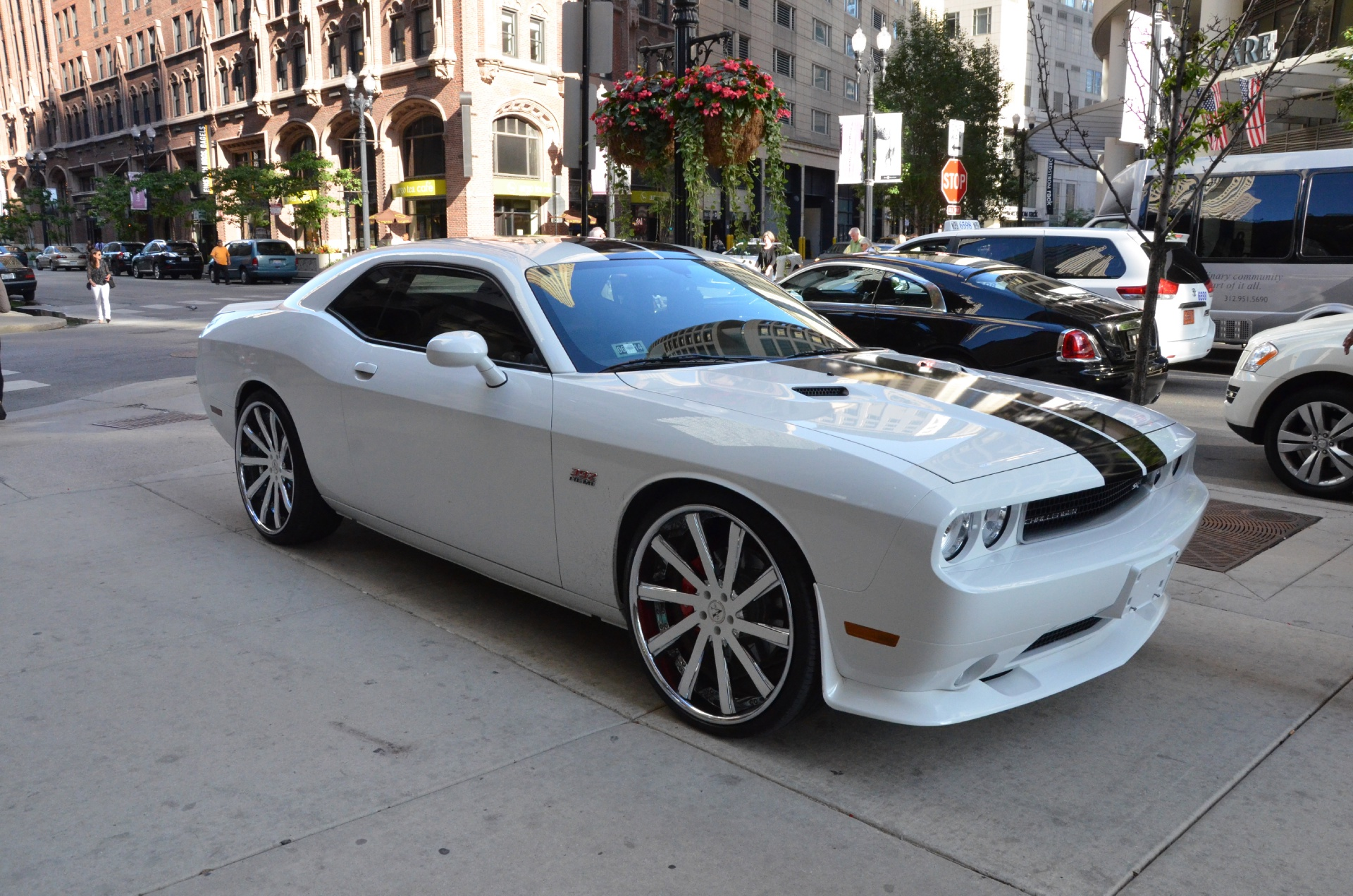 2012 dodge challenger srt8 yellow jacket stock 75567 for sale near chicago il il dodge dealer. Black Bedroom Furniture Sets. Home Design Ideas